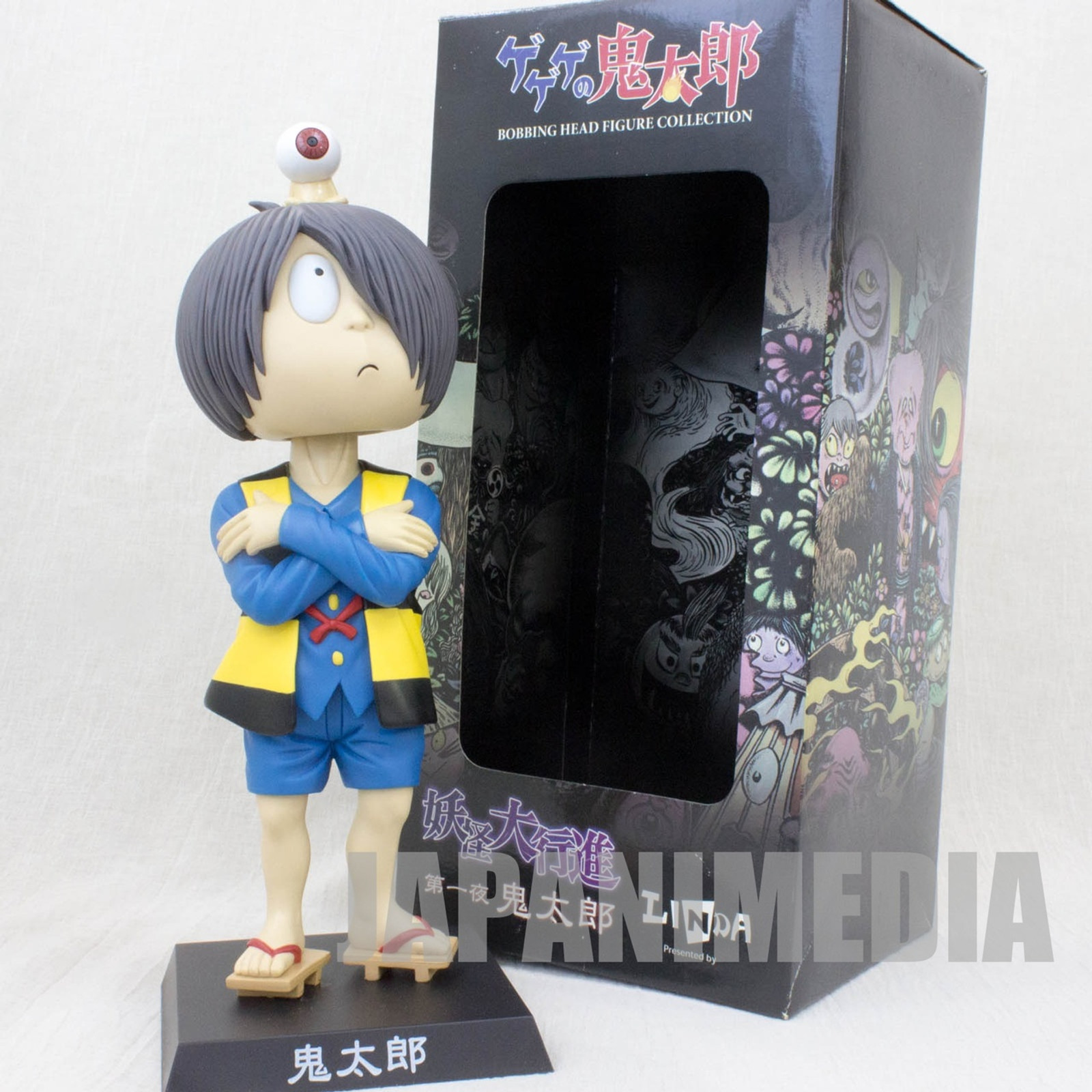 "Gegege no Kitaro Bobbing Head Figure 10"" JAPAN ANIME MANGA"