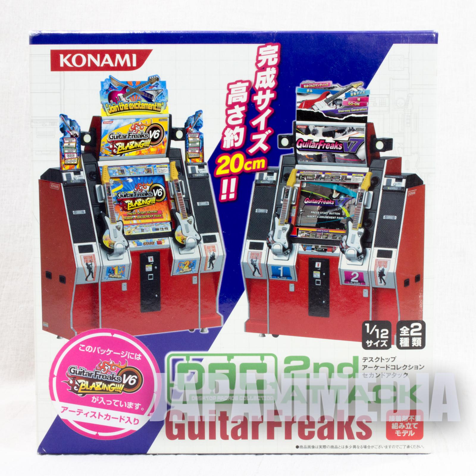 RARE!! Desktop Arcade Collection Guitar Freaks V6 1/12 Miniature Figure Konami