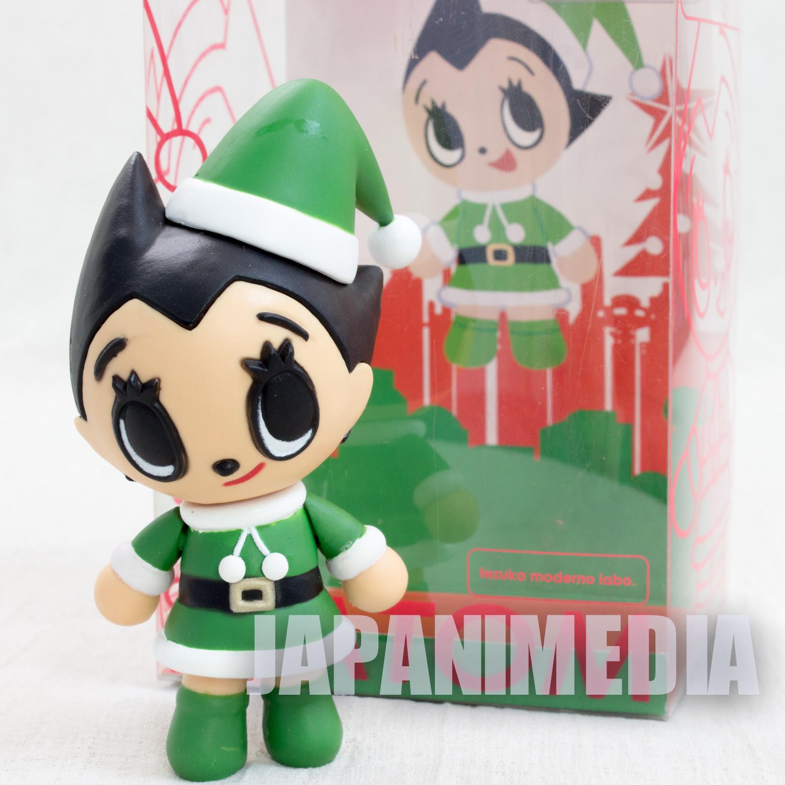 Astro Boy Atom Green Santa Moderno Labo Figure Tezuka Osamu Organic JAPAN