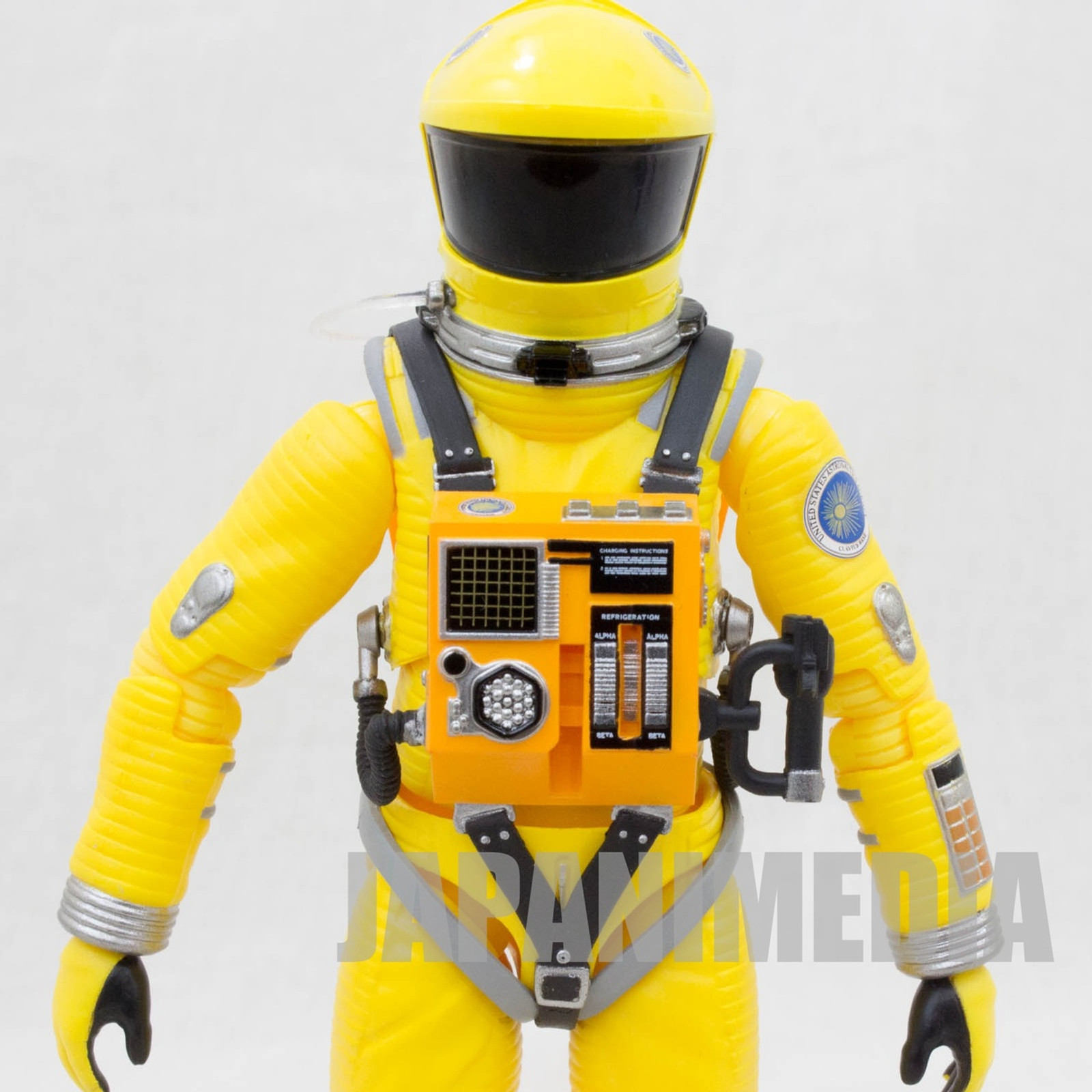 2001 A Space Odyssey Action Figure Space Suit Yellow Ver. Medicom MAFEX 035