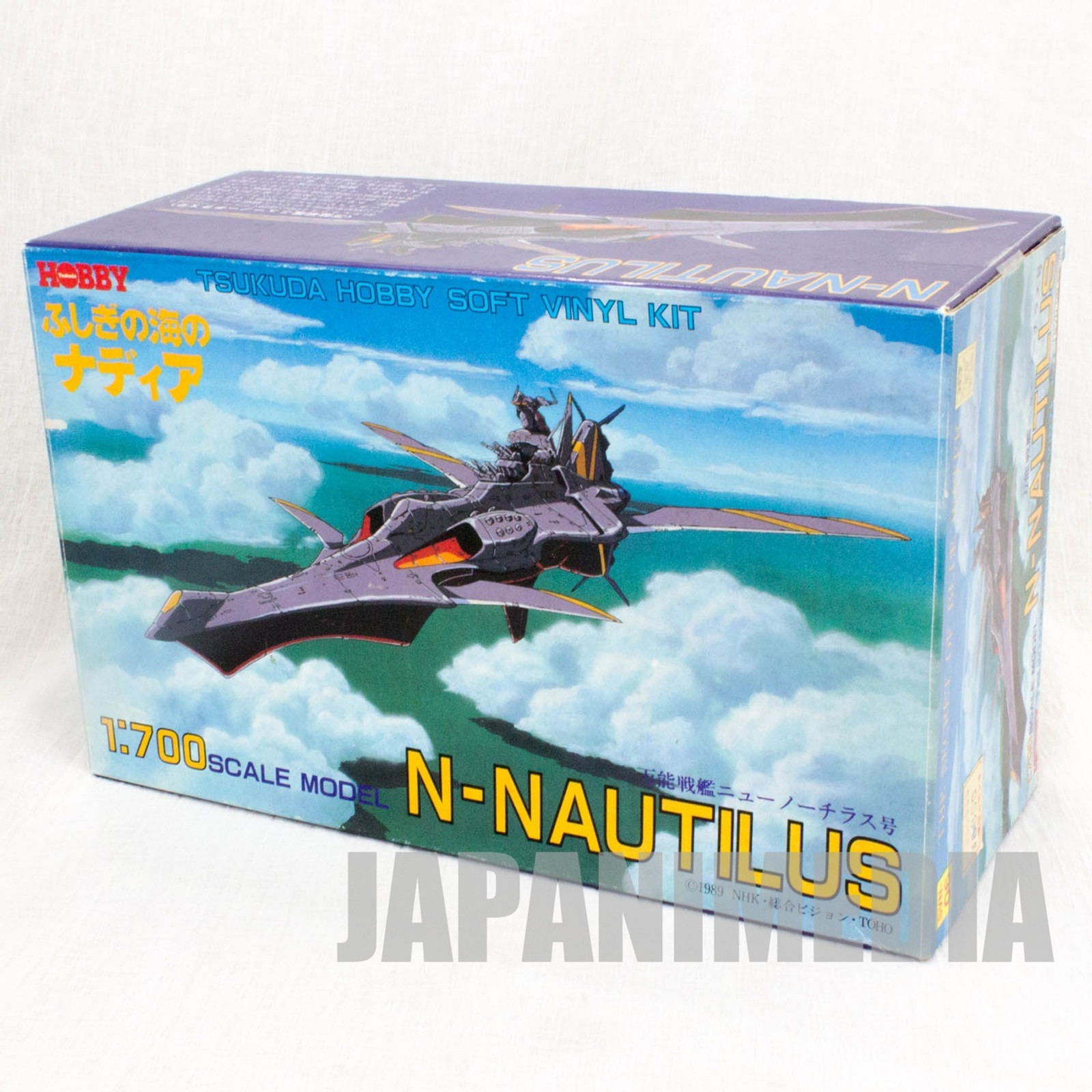Nadia The Secret of Blue Water Submarine N-Nautilus 1/700 Scale Model Kit