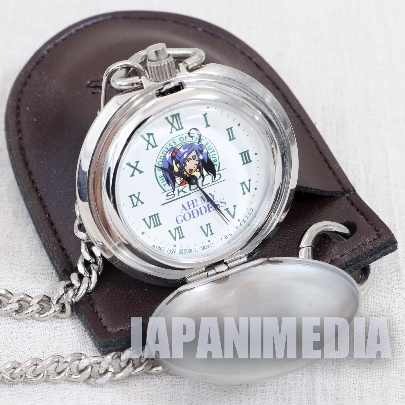 RARE! Ah! My Goddess Skuld Pocket Watch JAPAN ANIME MANGA