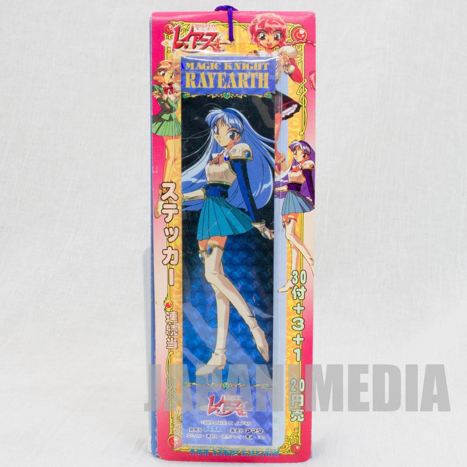 Magic Knight Rayearth Stickers 34pc Set CLAMP Nakayoshi JAPAN ANIME
