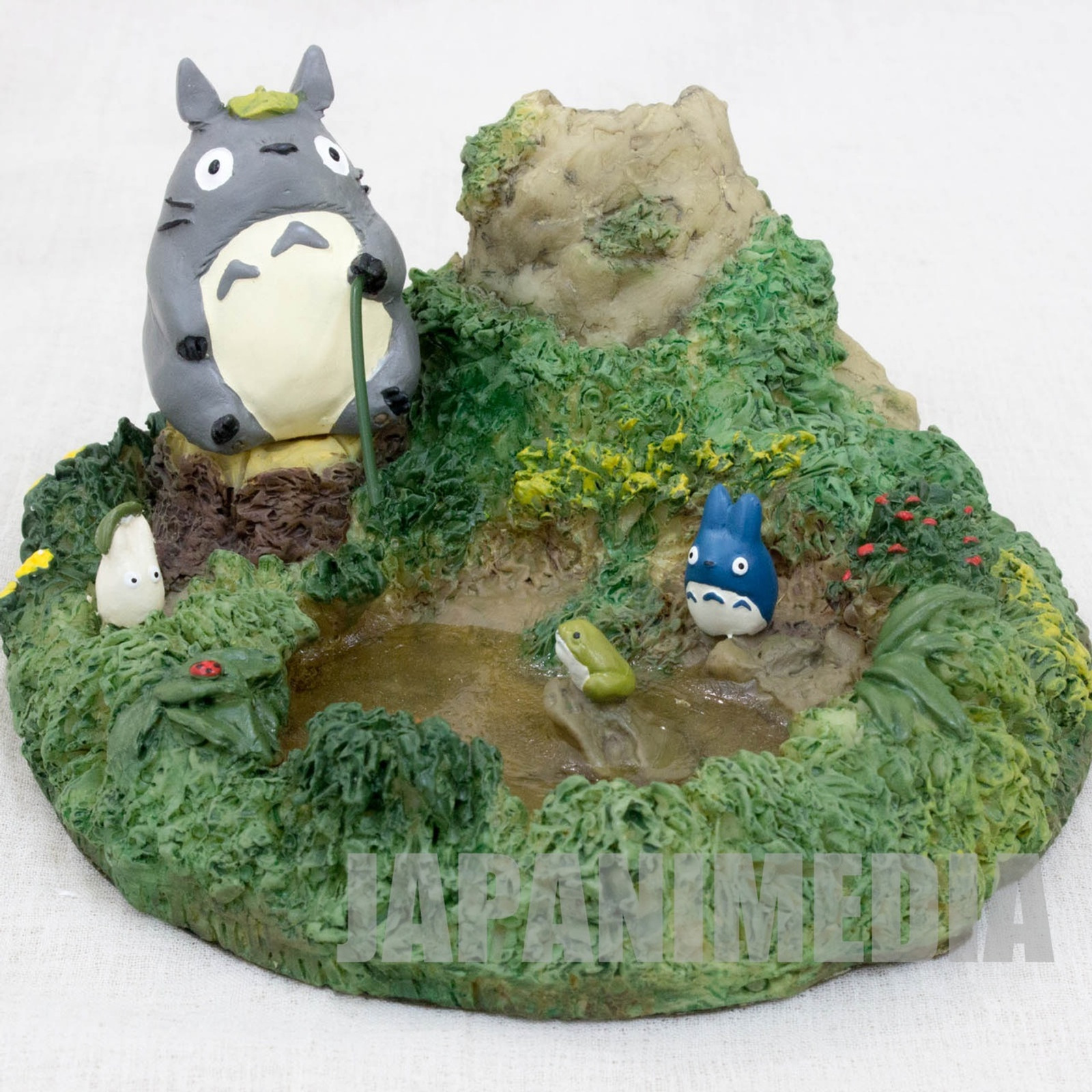 My Neighbor Totoro Diorama Figure Vase for one Flower Ghibli JAPAN ANIME