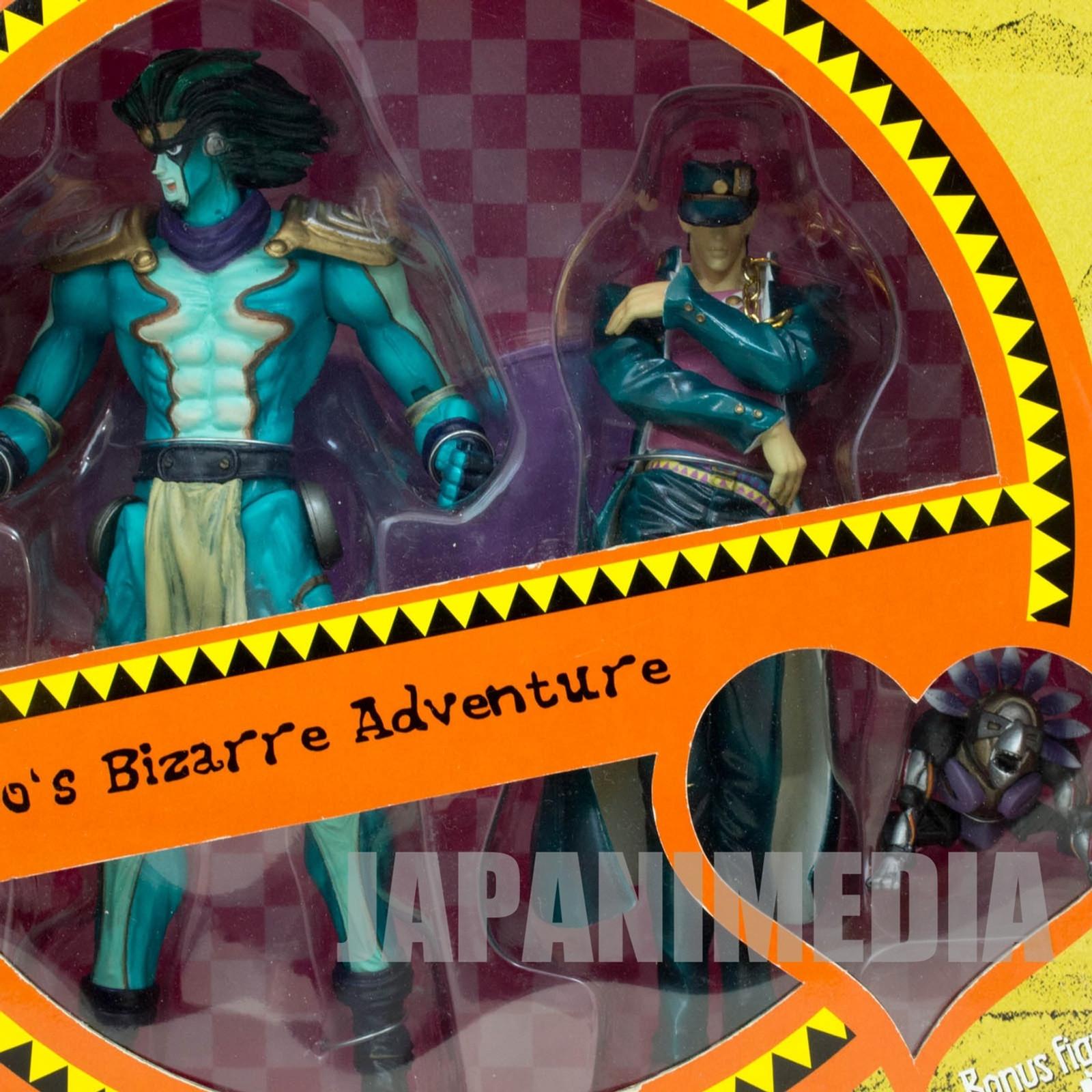 Jojo's Bizarre Adventure Kujo Jotaro & Star Platinum Figure ARTFX JAPAN