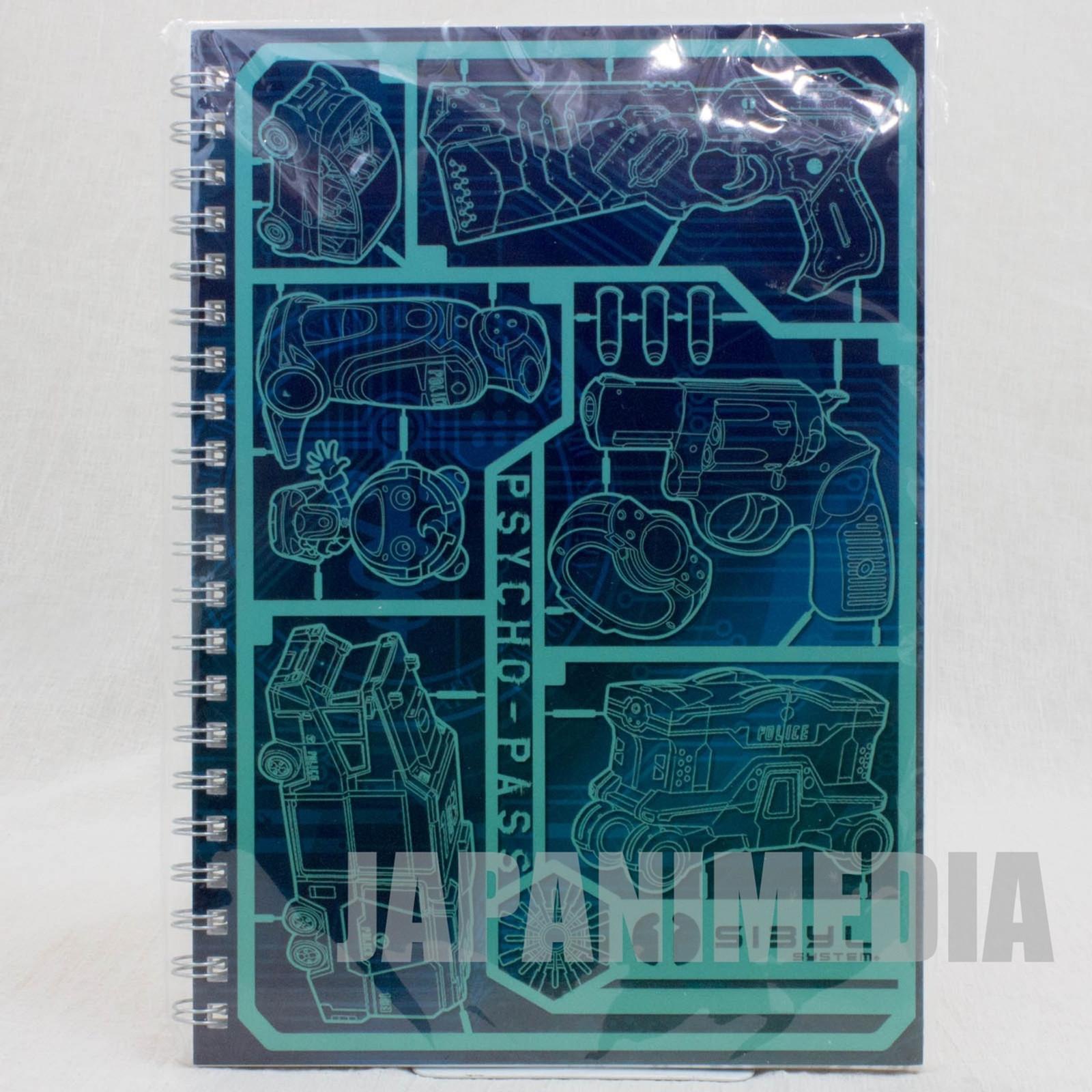 Psycho-Pass Notebook Public Security Bureau Ver. JAPAN ANIME MANGA