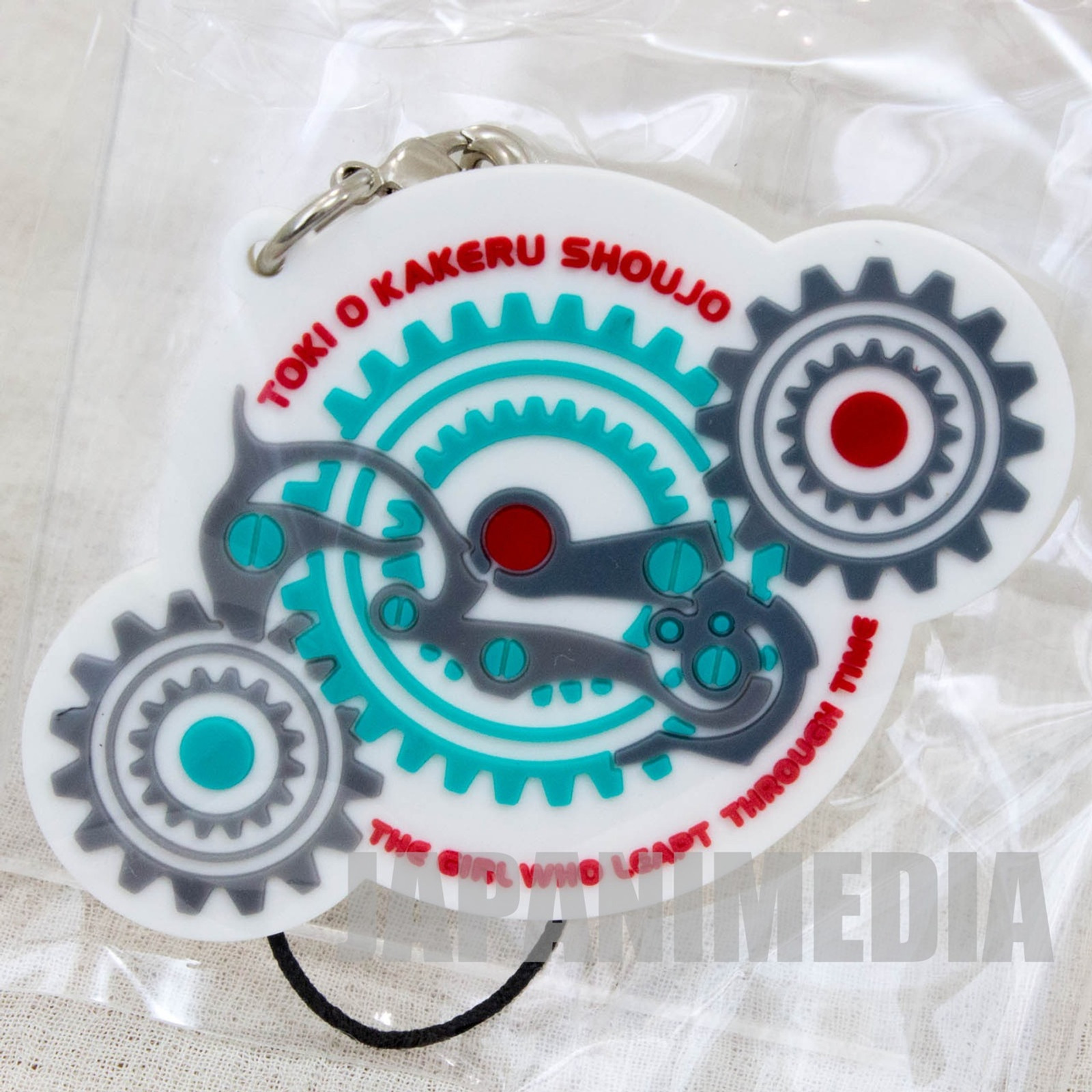The Girl who Leapt Through Time Mascot Rubber Strap Ver.A JAPAN ANIME