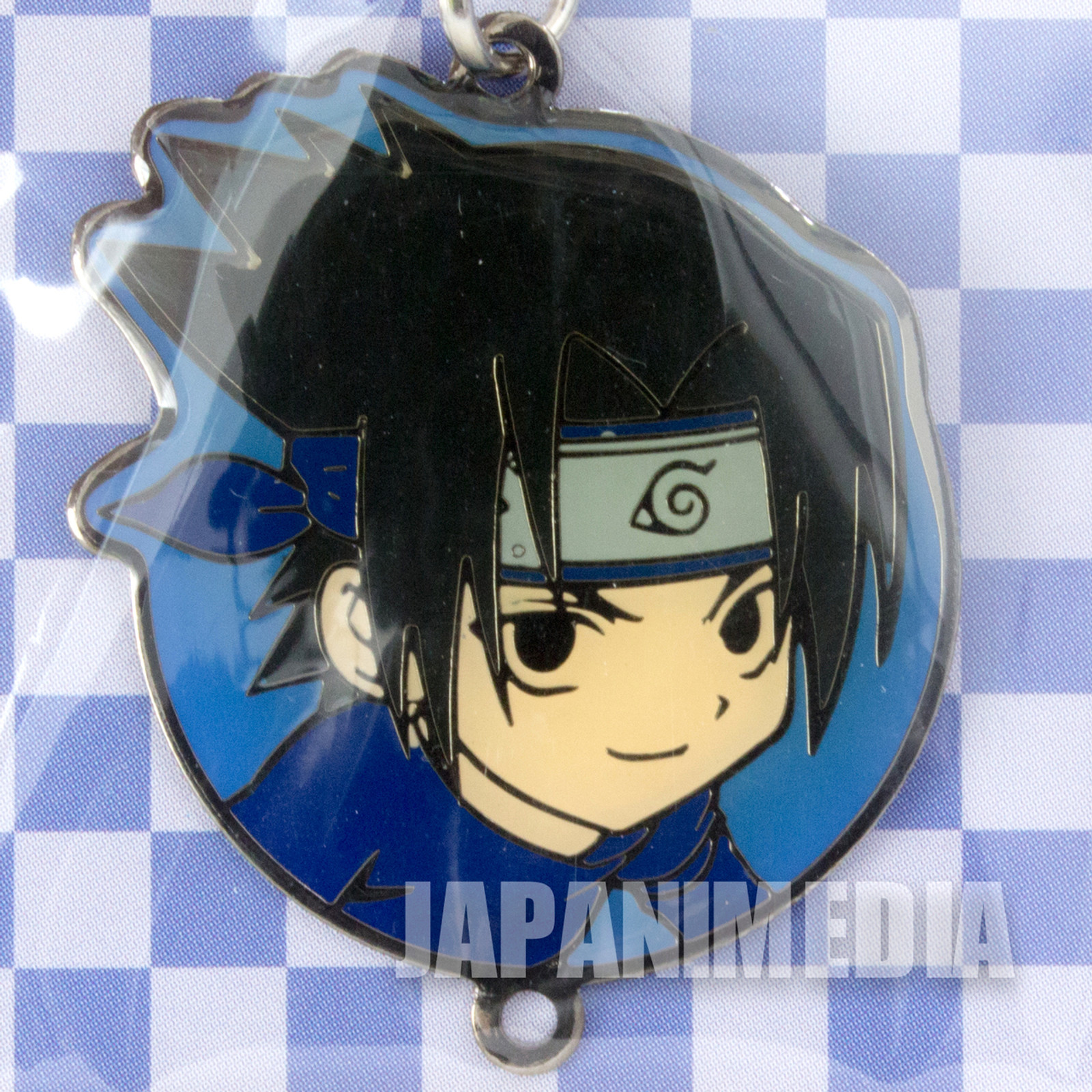 NARUTO Sasuke Metal Charm JAPAN ANIME MANGA SHONEN JUMP
