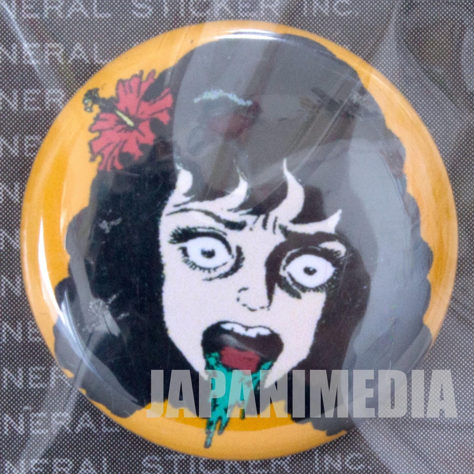 Umezu Kazuo Button Badge JAPAN ANIME MANGA 3