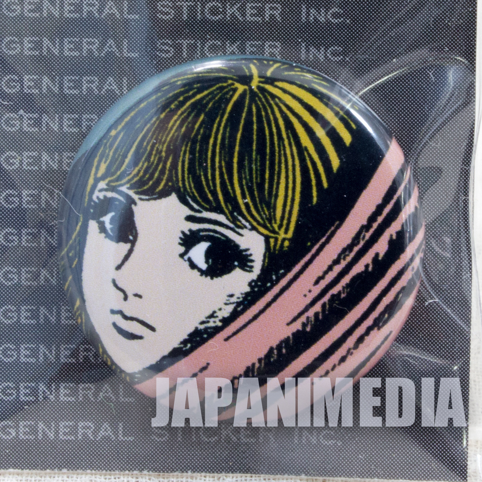 Umezu Kazuo Button Badge JAPAN ANIME MANGA 6