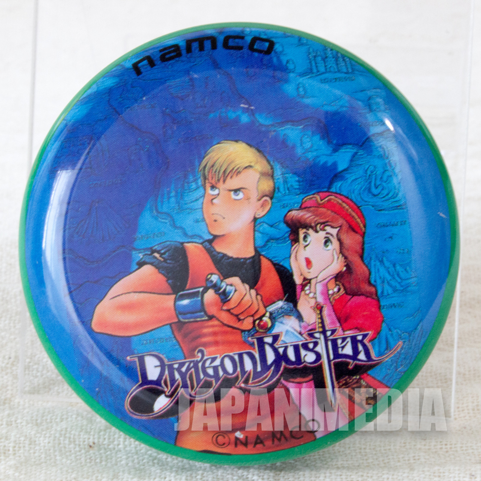 Retro RARE Dragon Buster Yoyo Toy Namco JAPAN FAMICOM NINTNEDO