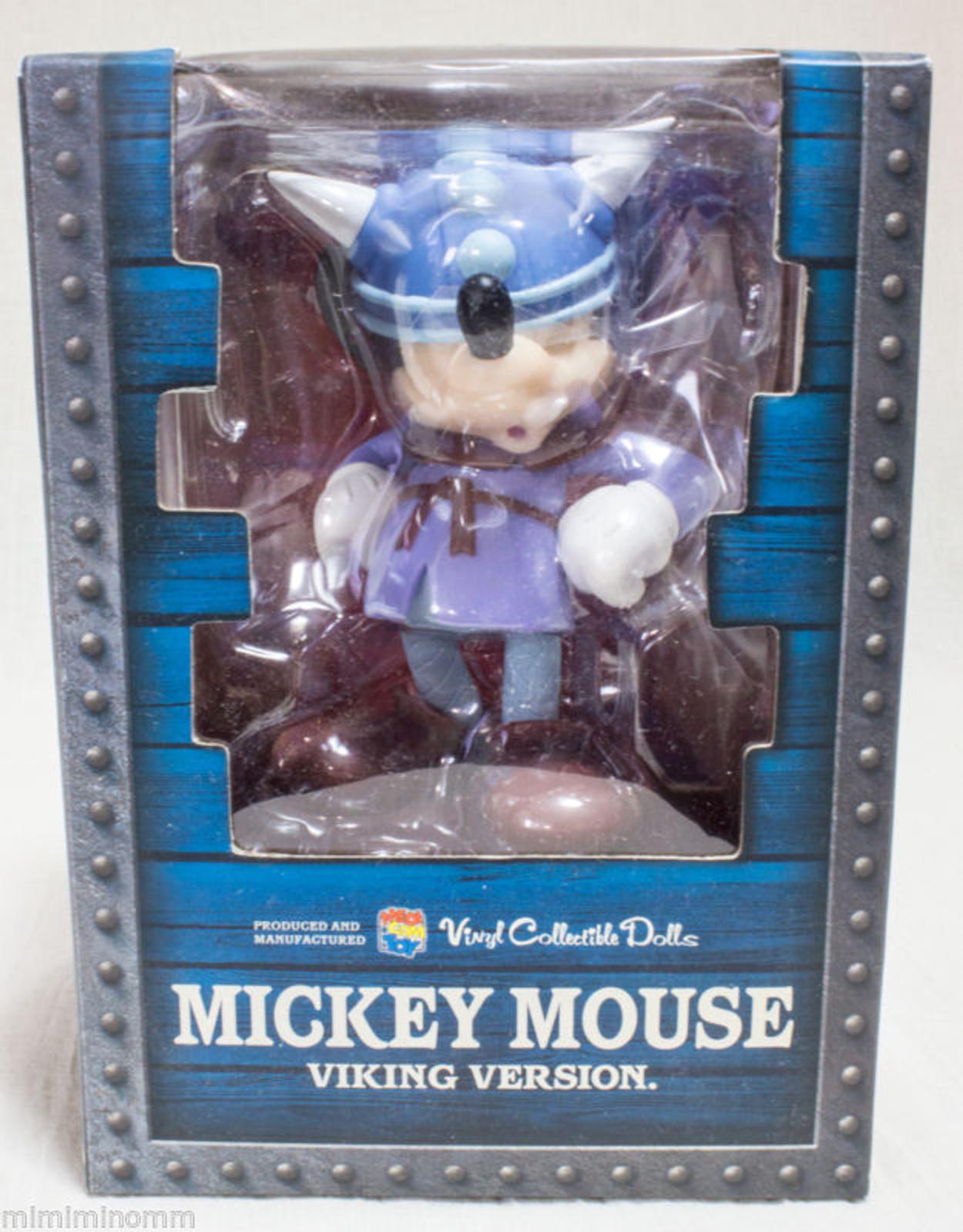 Disney Mickey Mouse Viking Ver. VCD Vinyl Collectible Dolls Figure Medicom JAPAN