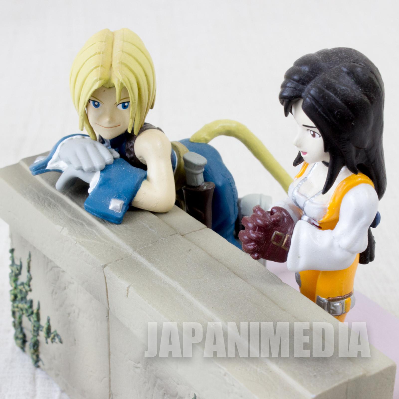 Final Fantasy IX 9 Zidane Garnet Diorama Figure Banpresto SQUARE ENIX GAME [No Box]