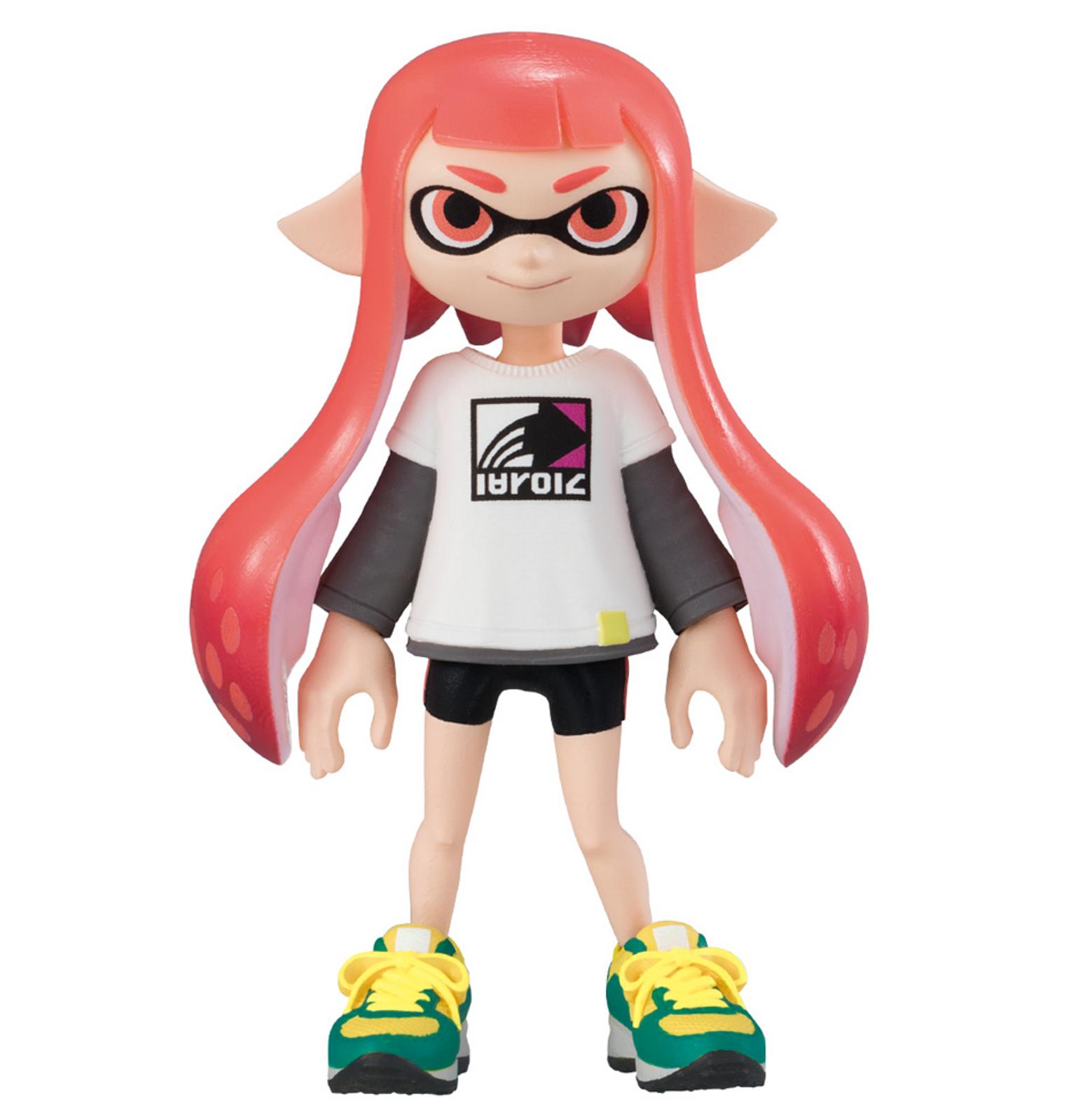 Splatoon 2 Dress-up Figure Gear Collection 2 Squid GIRL 2 JAPAN Nintendo Switch