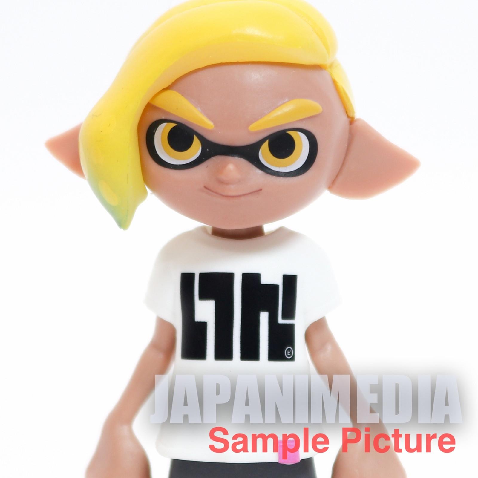 Splatoon 2 Dress-up Figure Gear Collection 2 Squid BOY 2 JAPAN Nintendo Switch
