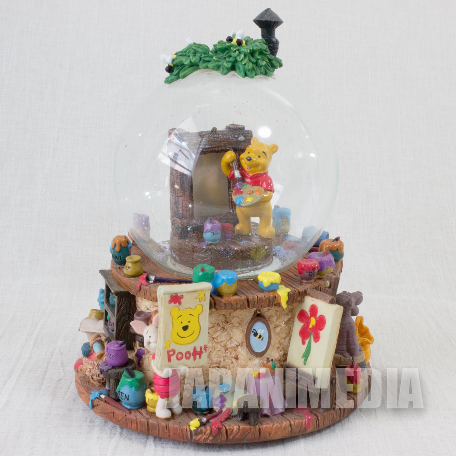 Winnie the Pooh Ceramic Ornament Figure JAPAN