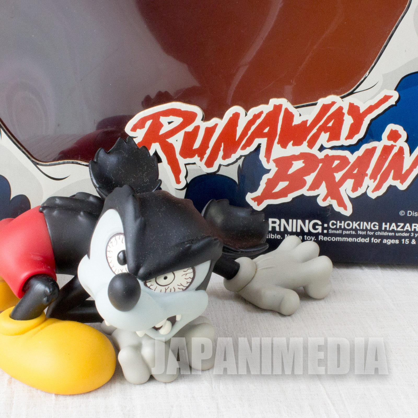 Disney Mickey Mouse Runaway Brain Figure VCD Medicom Toy JAPAN ANIME