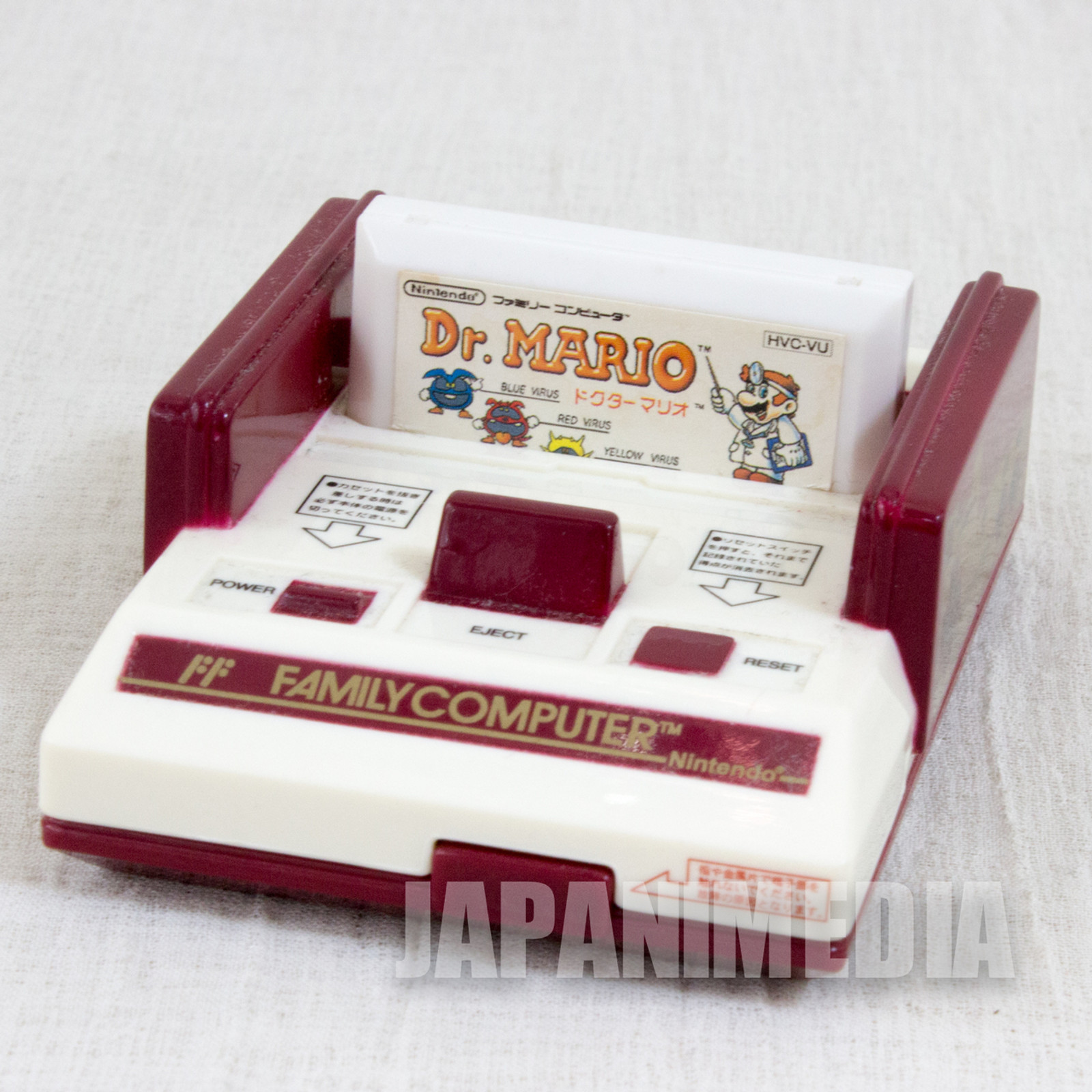 Dr. Mario Nintendo NES Famicom Family Computer Type Case JAPAN