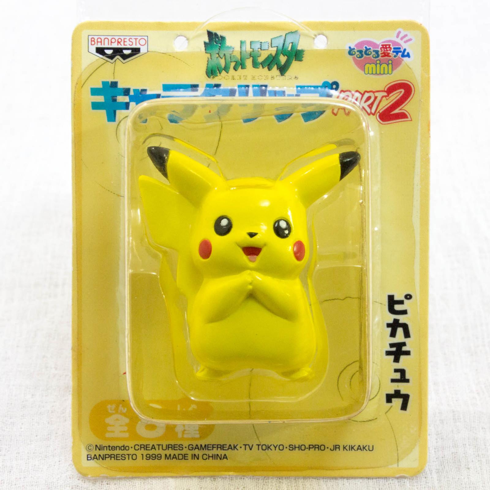 Pokemon Pikachu Character Clip JAPAN ANIME MANGA Pocket Monster