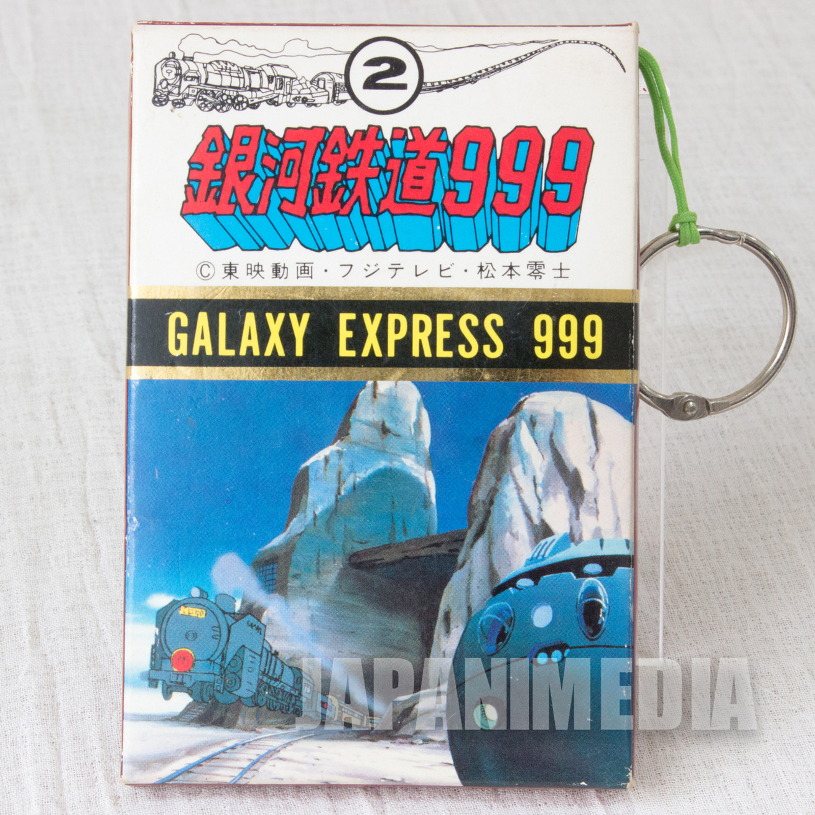 Retro RARE!! Galaxy Express 999 Plastic Card Set #2 JAPAN ANIME
