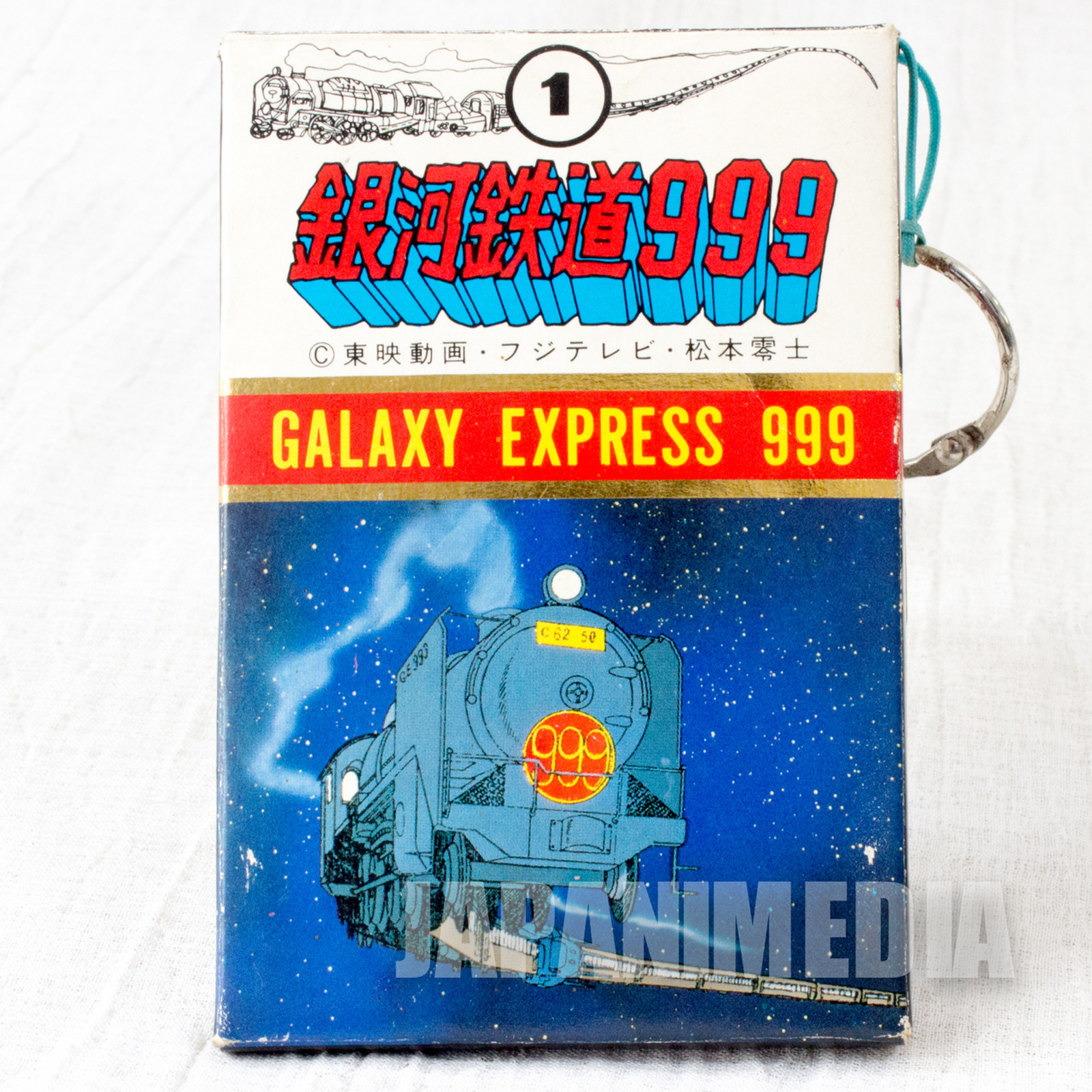 Retro RARE!! Galaxy Express 999 Plastic Card Set #1 JAPAN ANIME