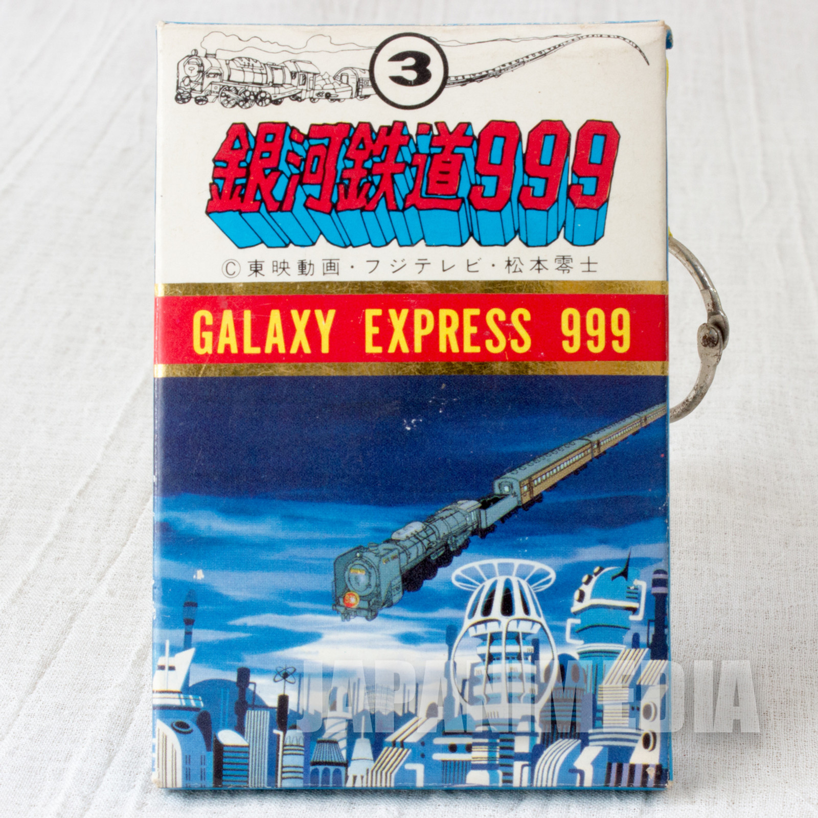 Retro RARE!! Galaxy Express 999 Plastic Card Set #3 JAPAN ANIME