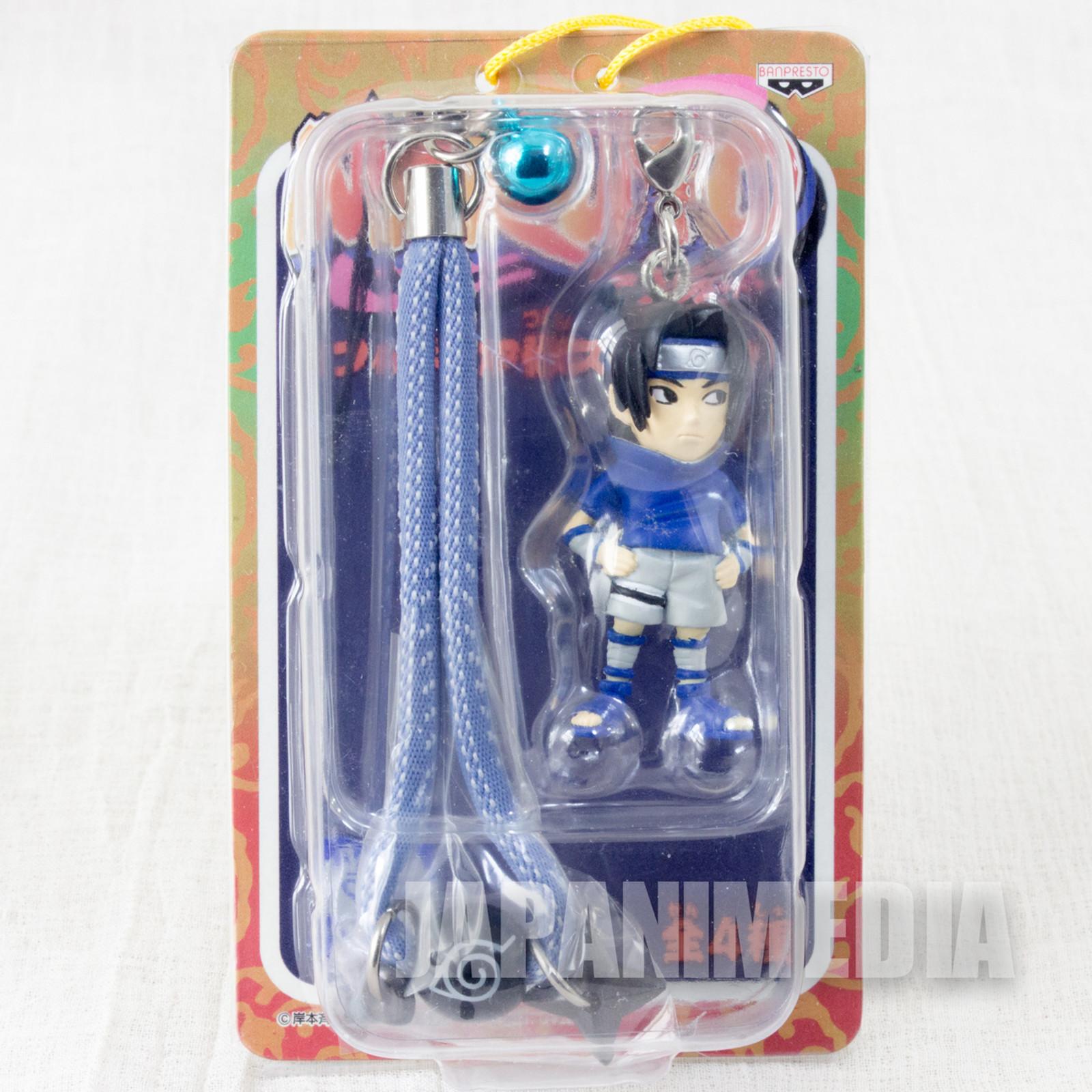 NARUTO Sasuke Uchiha Figure mobile Strap JAPAN ANIME MANGA
