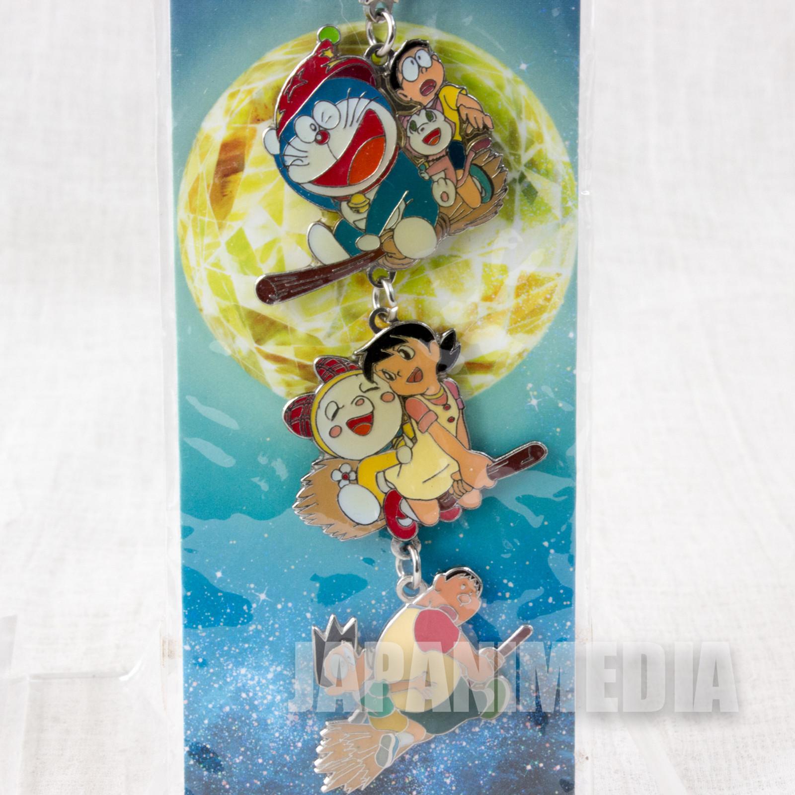 Doraemon: Nobita no Shin Makai Daiboken Metal Chram Strap Movie 2007 JAPAN
