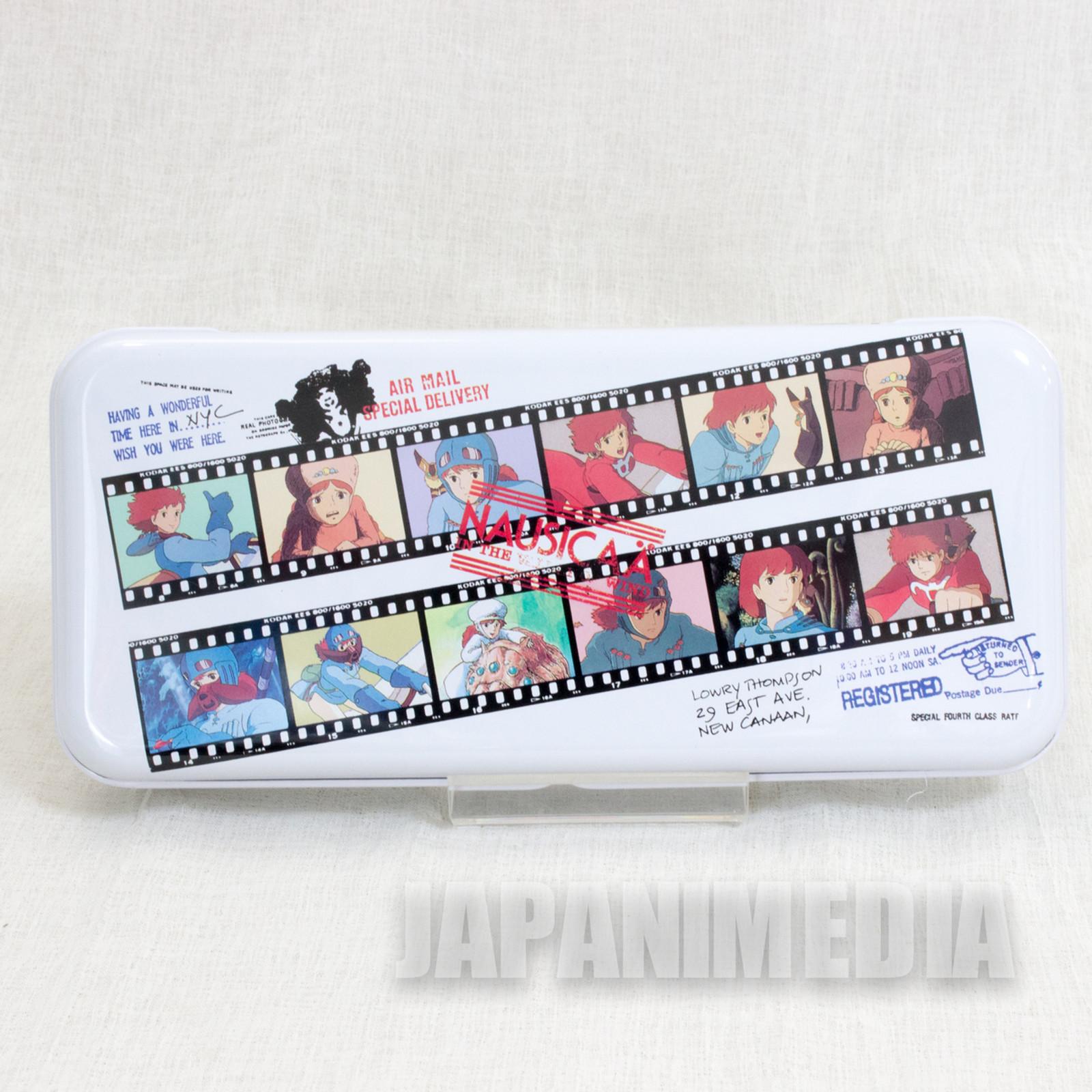 Retro RARE Nausicaa of the Valley Can Pen Case Movic Ghibli JAPAN ANIME