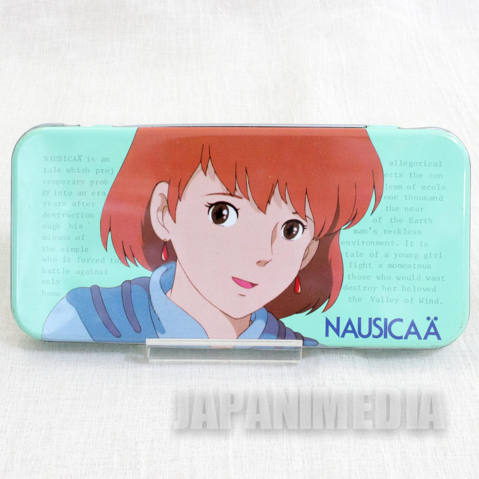 Retro RARE Nausicaa of the Valley Can Pen Case Animage Ghibli JAPAN ANIME