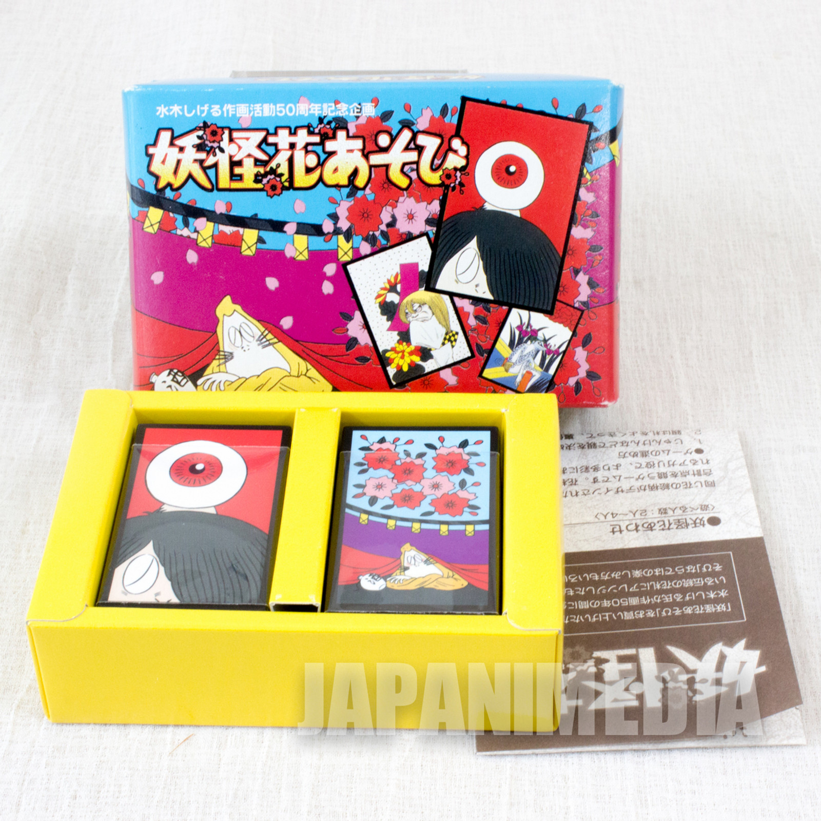 GeGeGe no Kitaro Hanafuda Japanese Card Game 48pc JAPAN ANIME MANGA