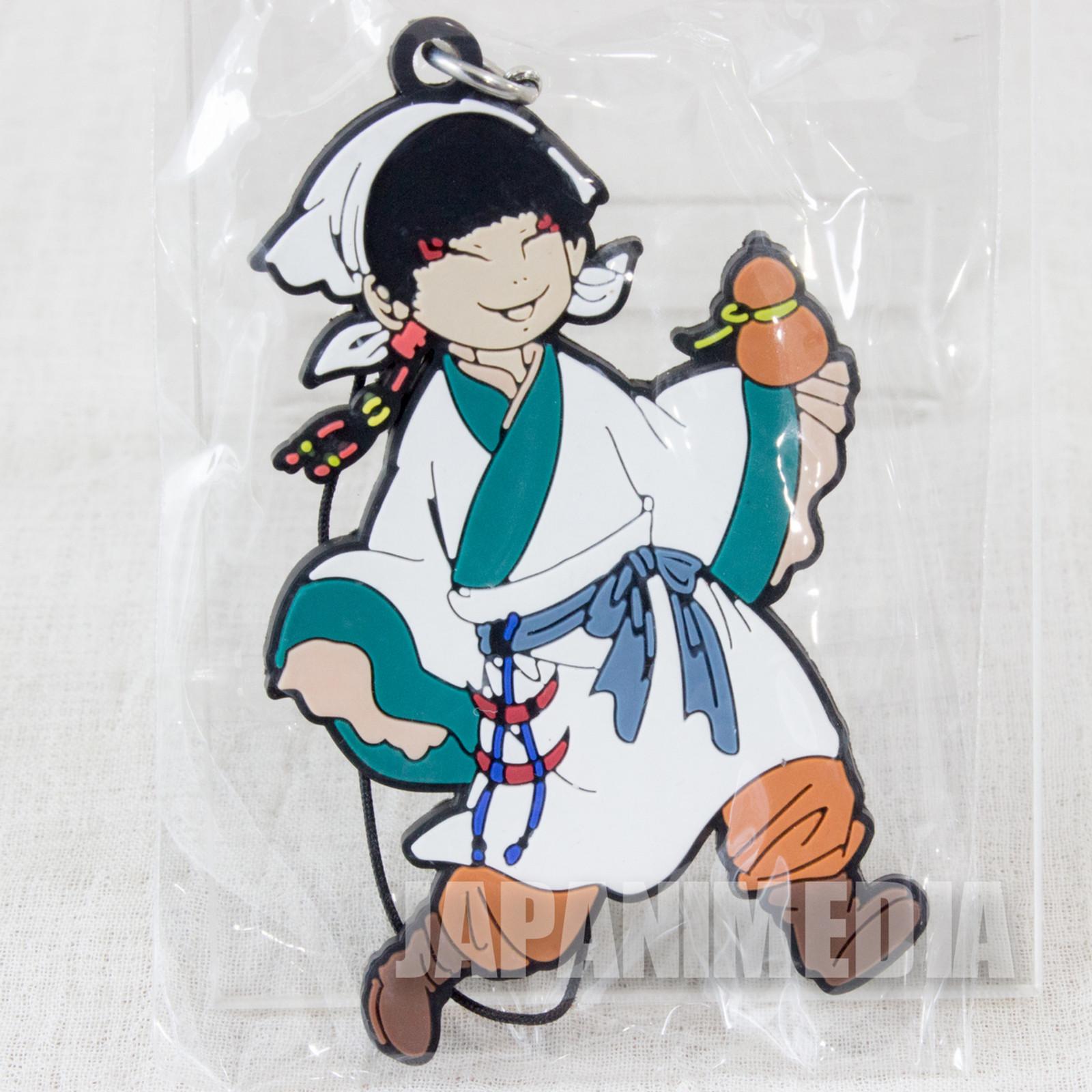 Hozuki no Reitetsu Hakutaku Rubber Mascot Strap Collection JAPAN ANIME MANGA