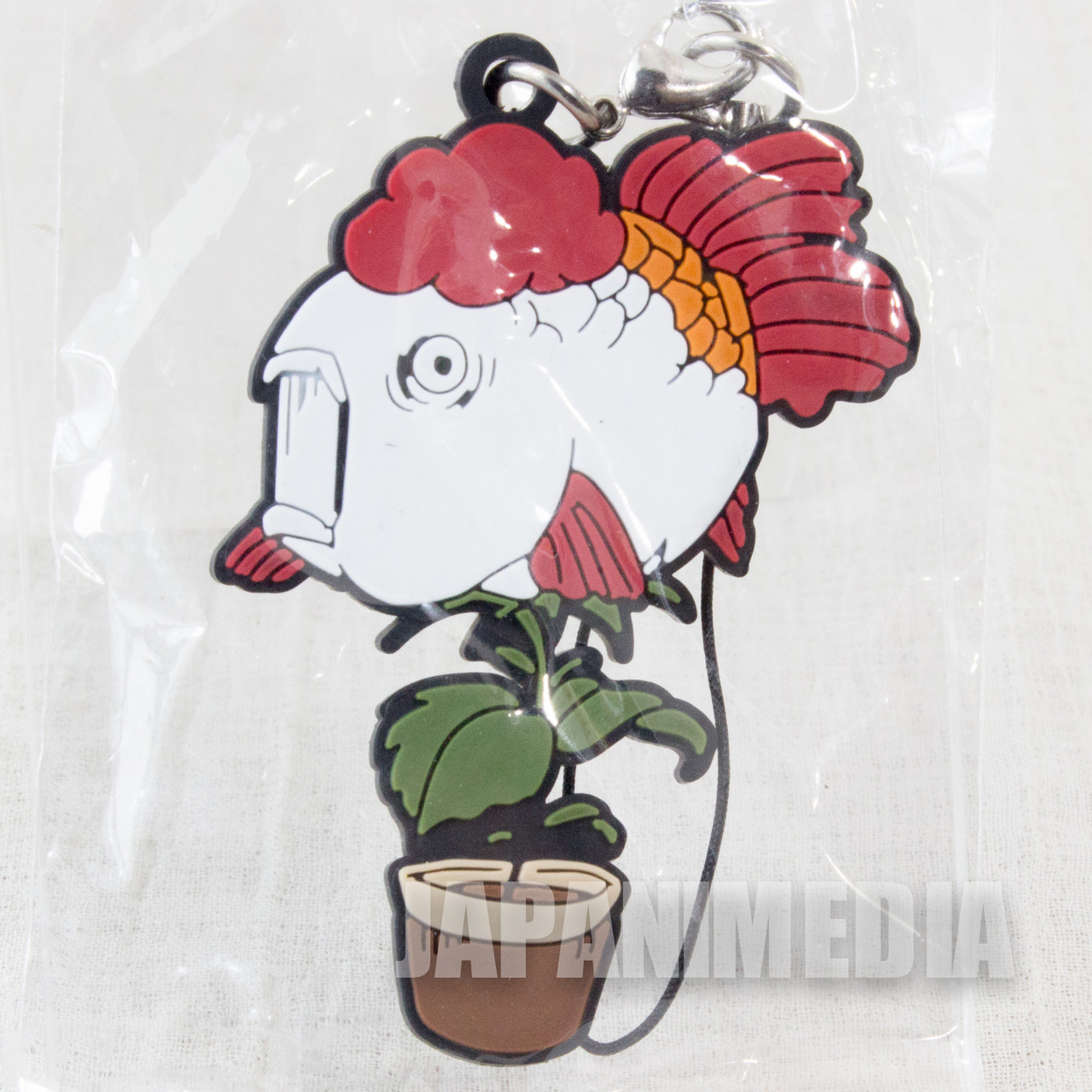 Hozuki no Reitetsu Goldfish Plant (Kingyosou) Rubber Mascot Strap Collection JAPAN ANIME MANGA