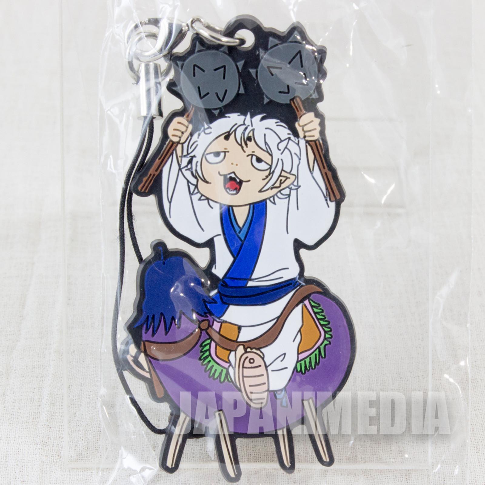 Hozuki no Reitetsu Nasubi Rubber Mascot Strap Collection JAPAN ANIME MANGA