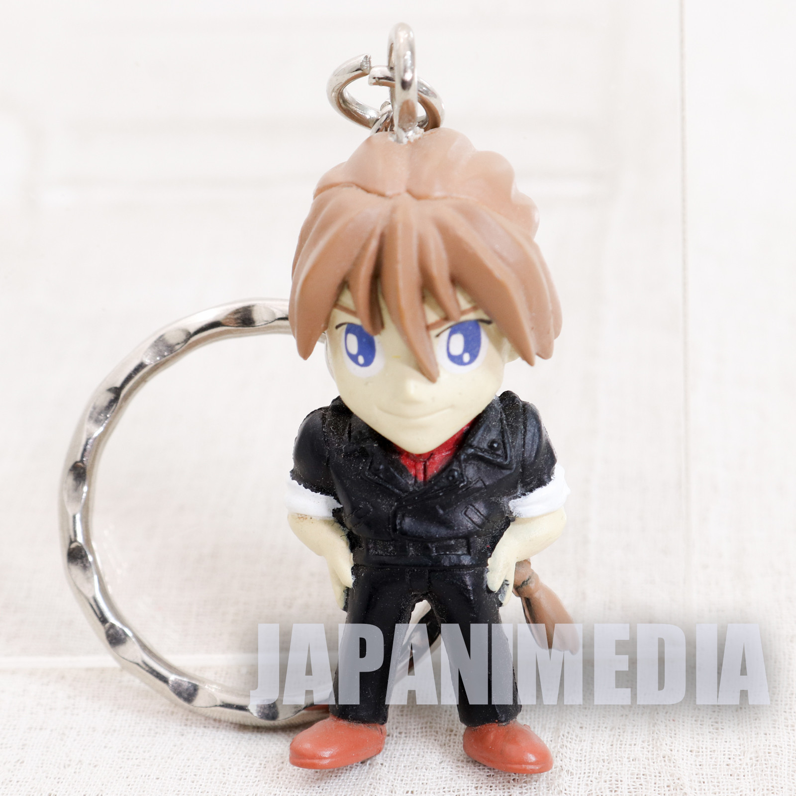 Gundam Wing Duo Maxwell Figure Key Chain - Endless Waltz - JAPAN ANIME