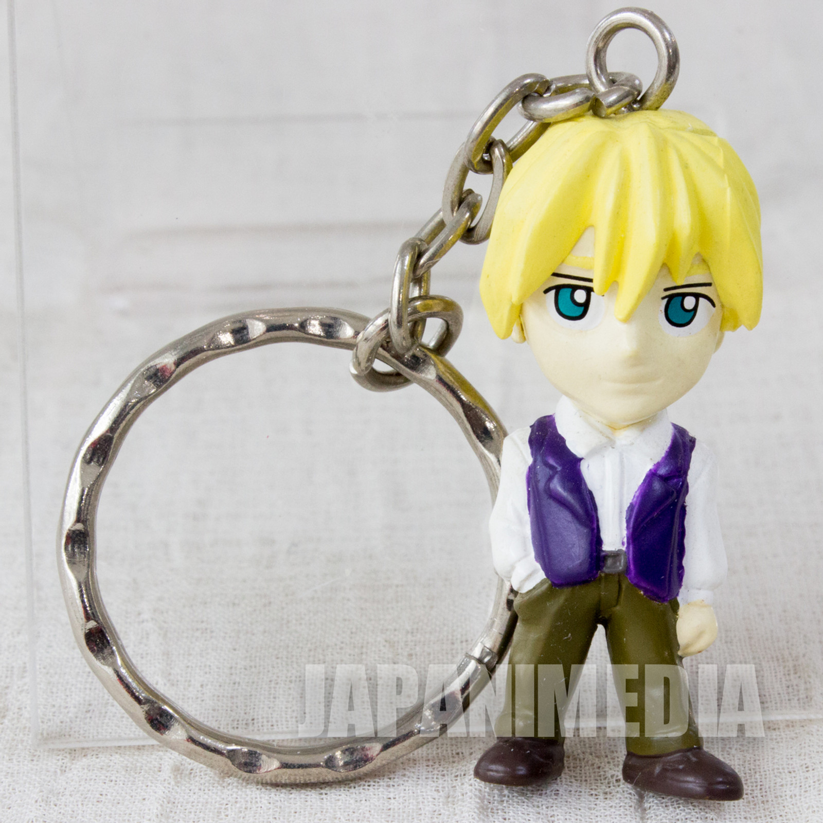 Gundam Wing Quatre Raberba Winner Figure Key Chain - Endless Waltz - JAPAN ANIME