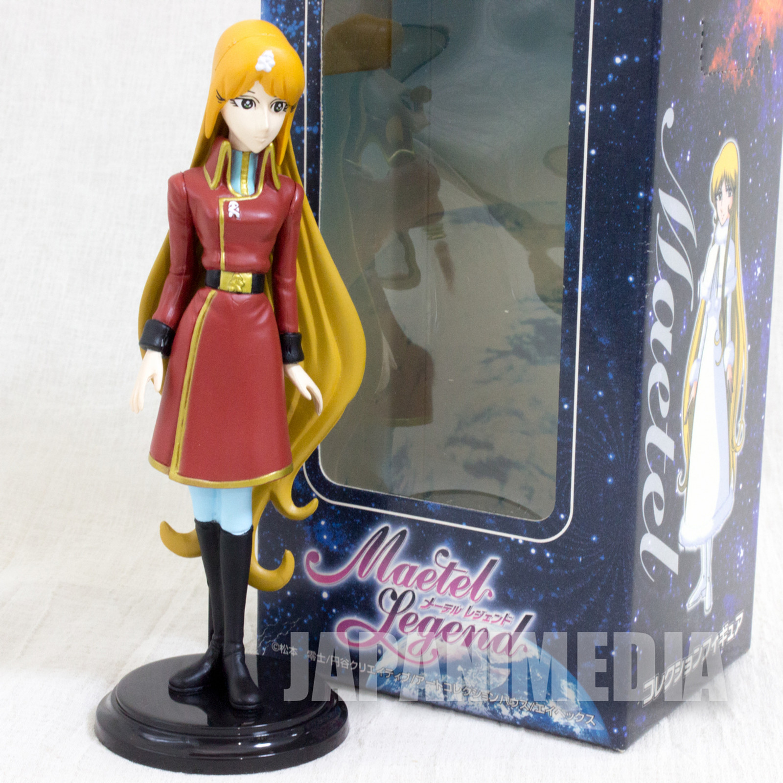 Galaxy Express 999 Queen Emeraldas Maetel Legend Collection Figure REIJI MATSUMOTO JAPAN ANIME