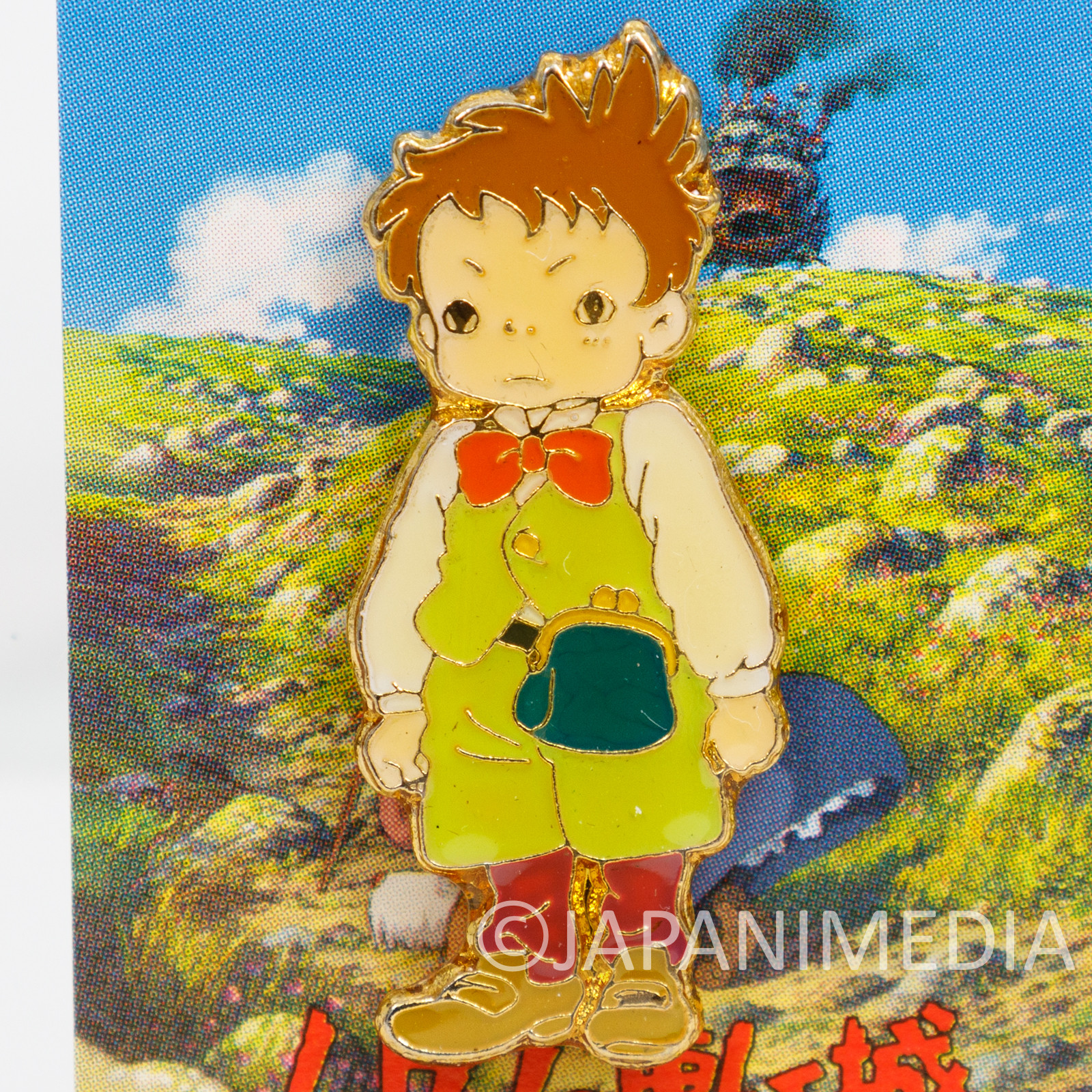 Howl's Moving Castle Markl Character Pins Ghibli JAPAN