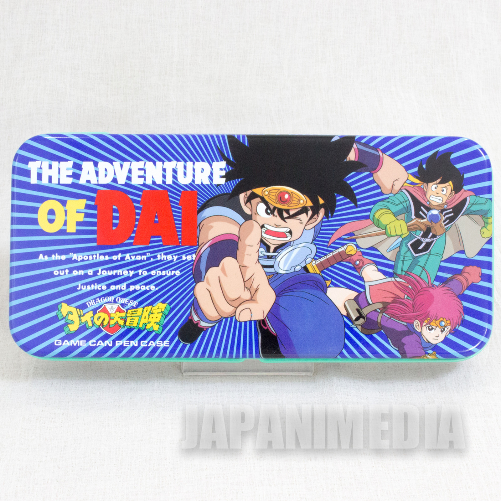 Dragon Quest: The Adventure of Dai Can Pen Case JAPAN ANIME MANGA 3