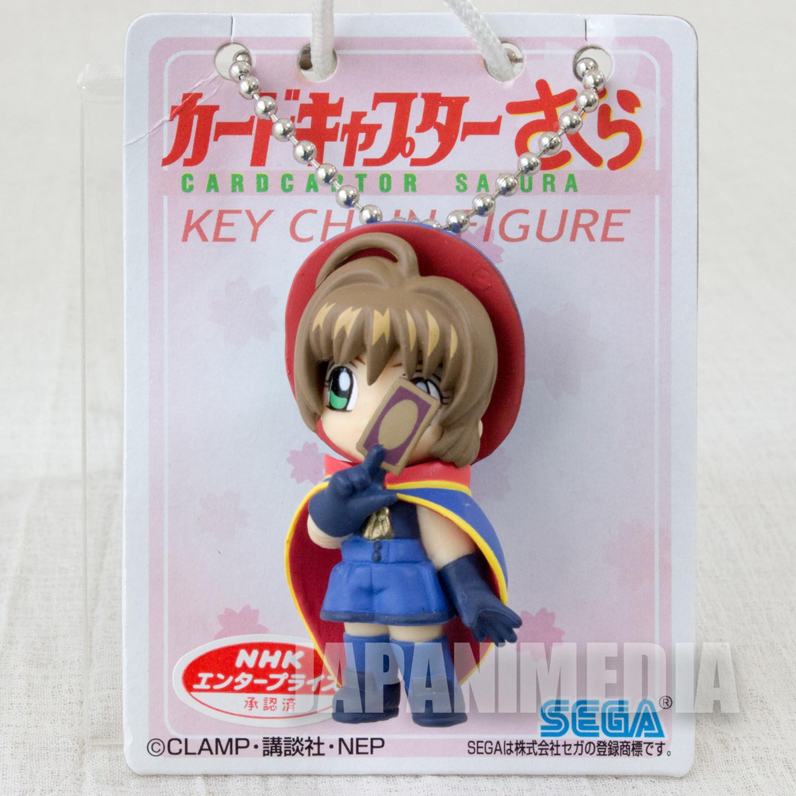 Cardcaptor Sakura Sakura Kinomoto Battle Costume Keychain Figure CLAMP JAPAN ANIME