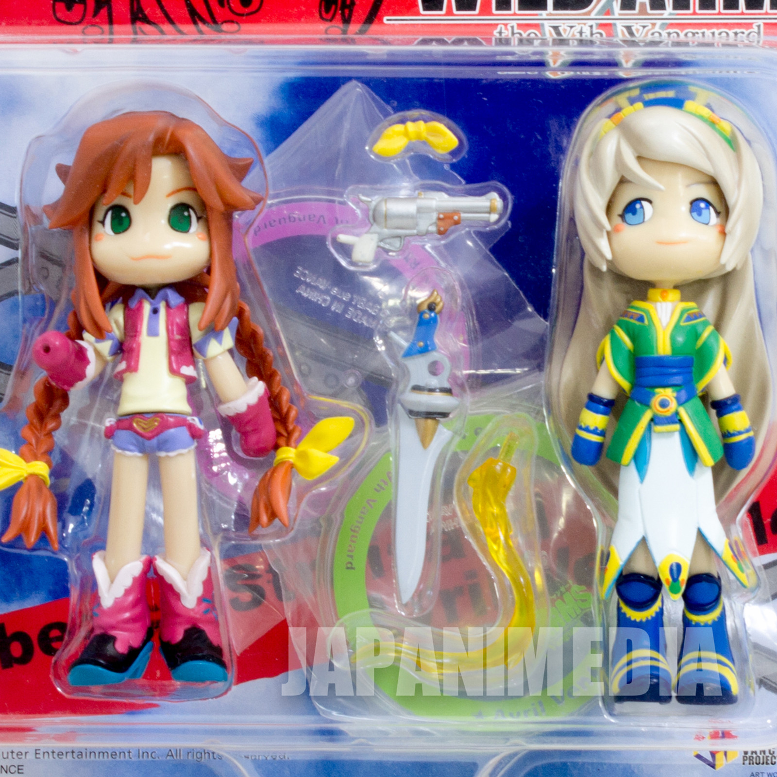 Wild Arms the Vth Vanguard REBECCA & AVRIL Figure set P:chara JAPAN GAME PS2