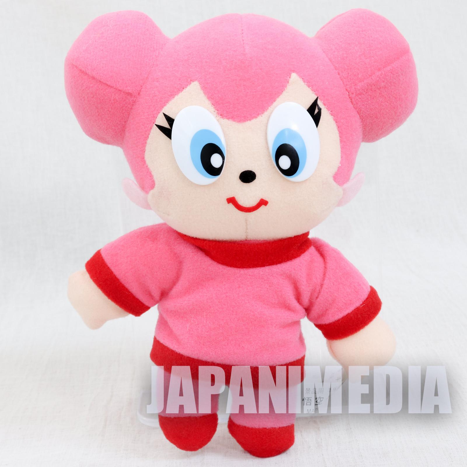 RARE! Goku's Great Adventures Tatsuko Plush Doll Tezuka Osamu JAPAN Daiboken