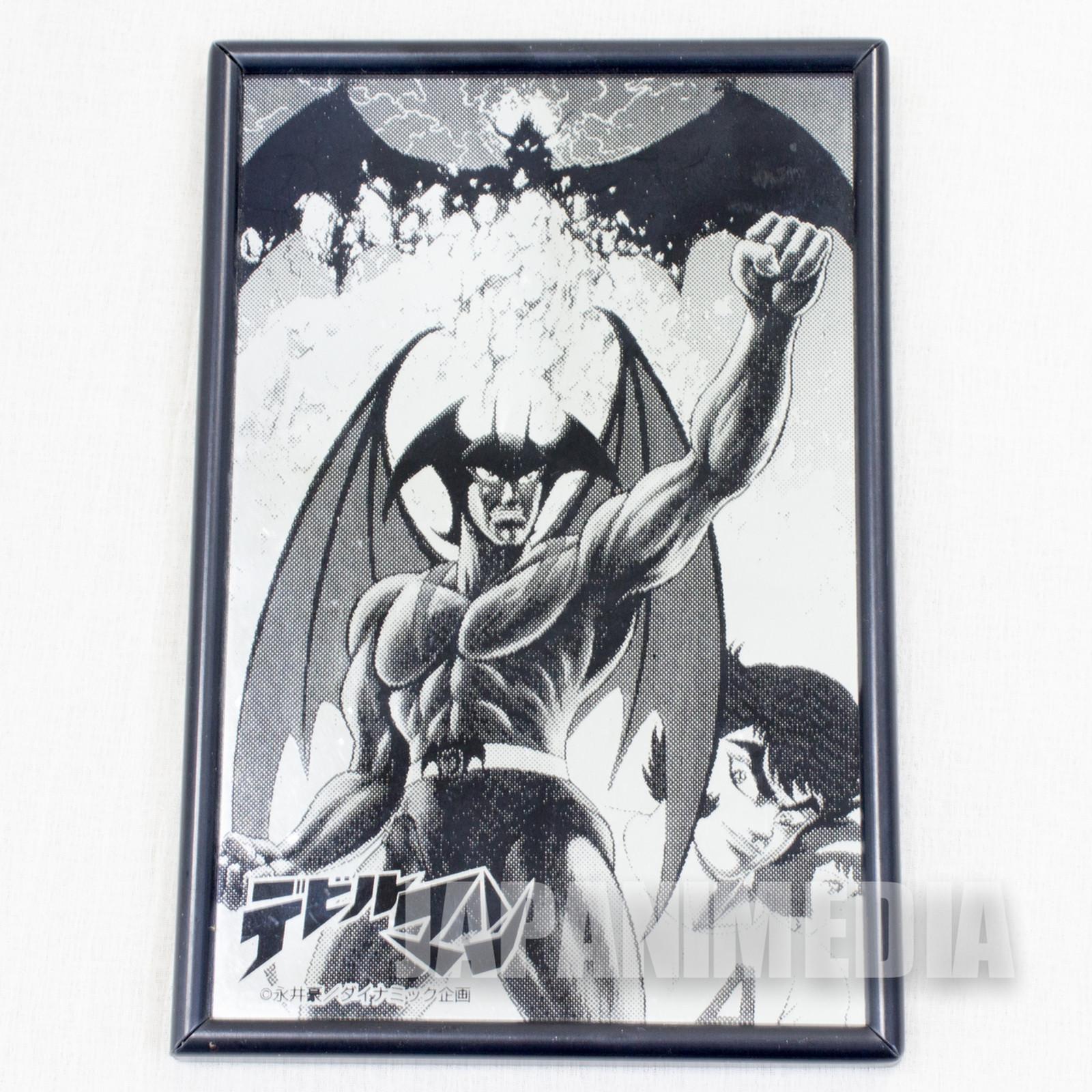 Devilman Desktop Picture Mirror Comic Ver. Go Nagai JAPAN ANIME MANGA 3