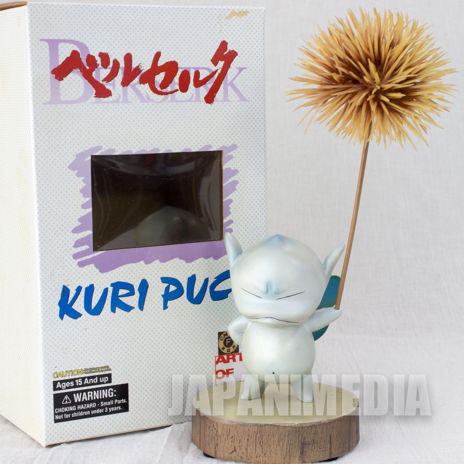 Berserk Art of War KURI PUCK Polystone Figure Blue Ver. JAPAN ANIME MANGA