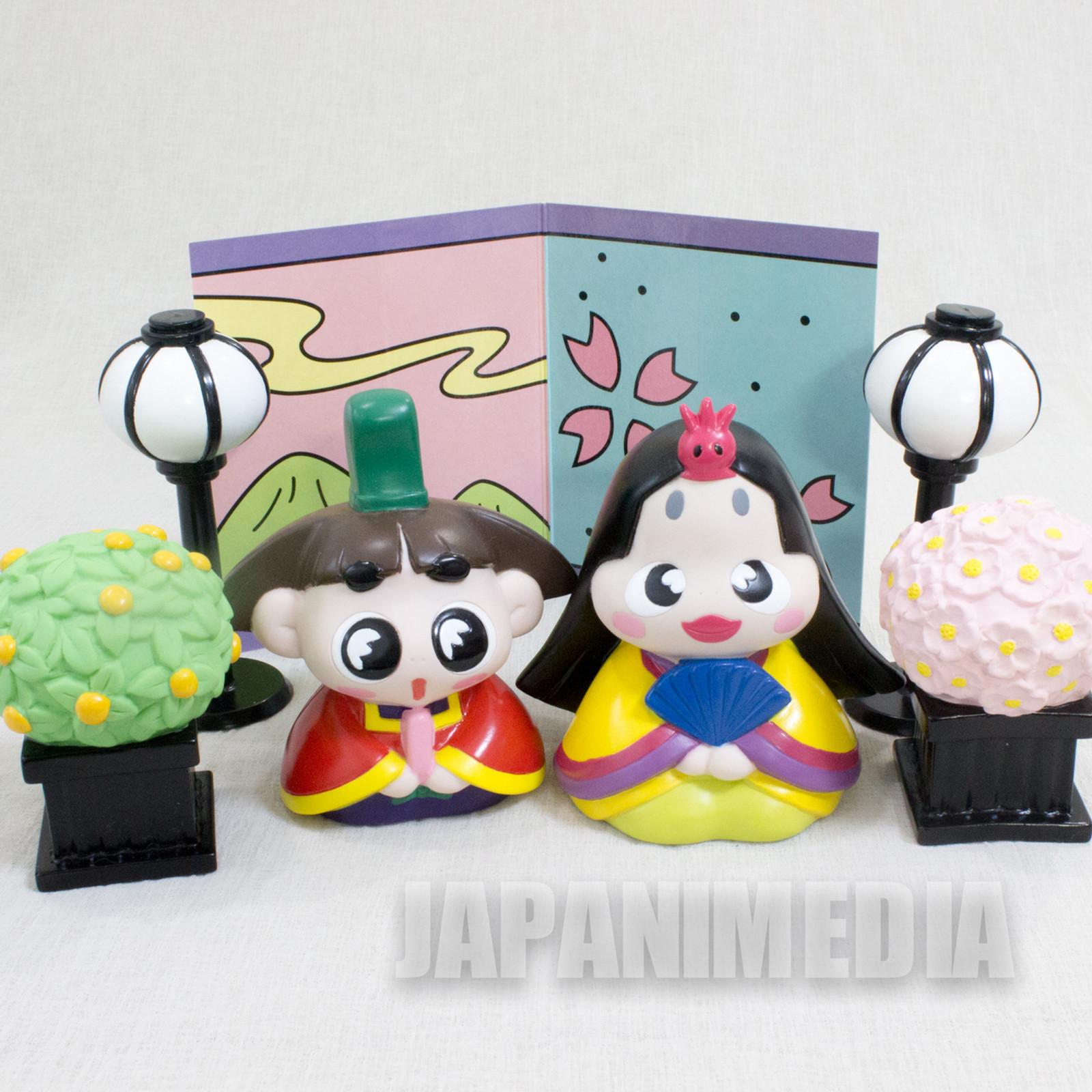 Ojarumaru Okame Hime Hinamatsuri Figure Set JAPAN ANIME MANGA NHK