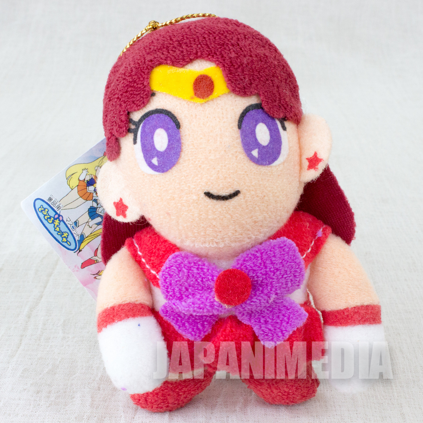 Sailor Moon Sailor Mars (Rei Hino) Mini Plush Doll Mascot JAPAN ANIME MANGA