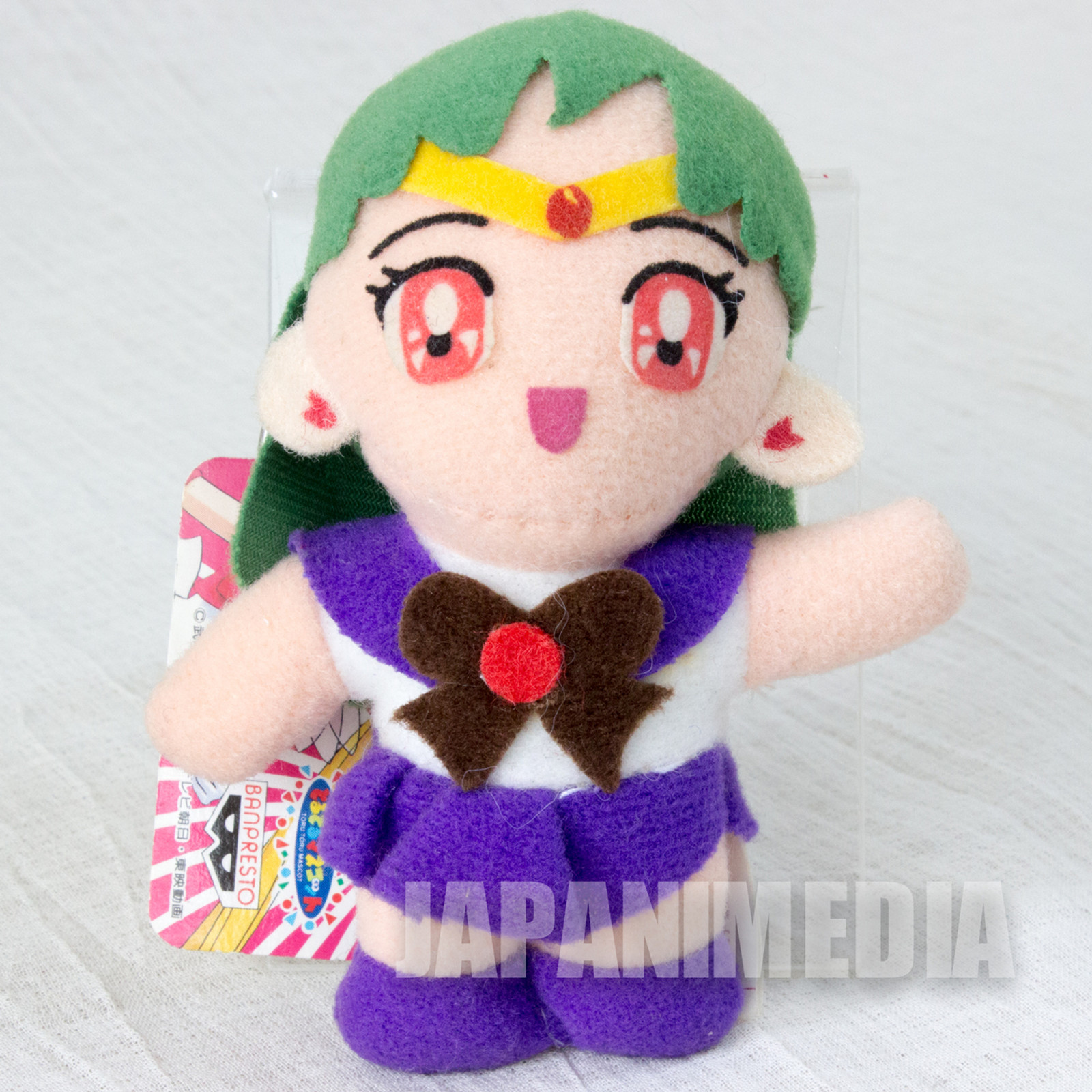 Sailor Moon Sailor Pluto (Setsuna Meioh) Plush Doll Keychain JAPAN ANIME MANGA