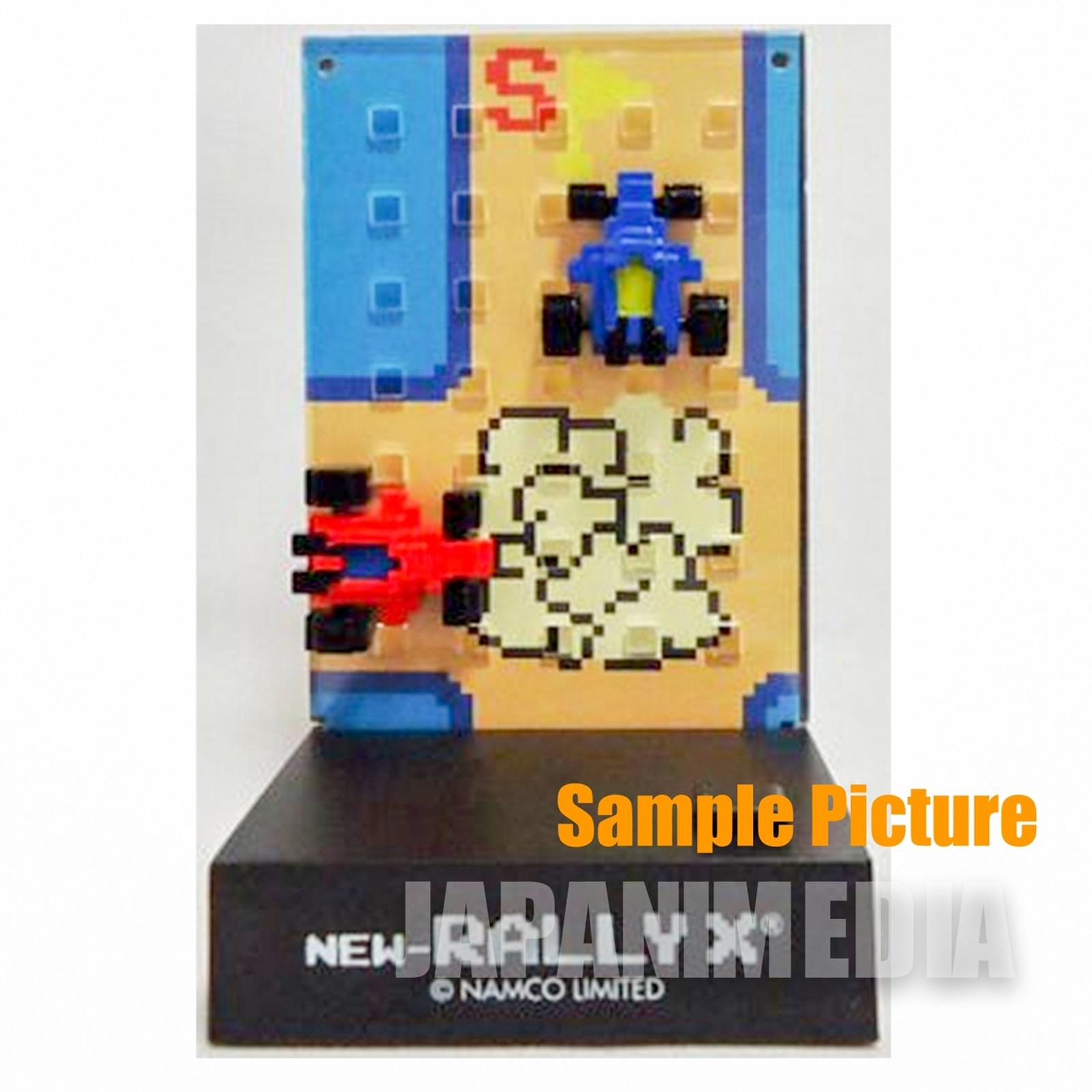 RARE! Namco Dotgraphics Rally X Figure with Game Sound JAPAN FAMICOM