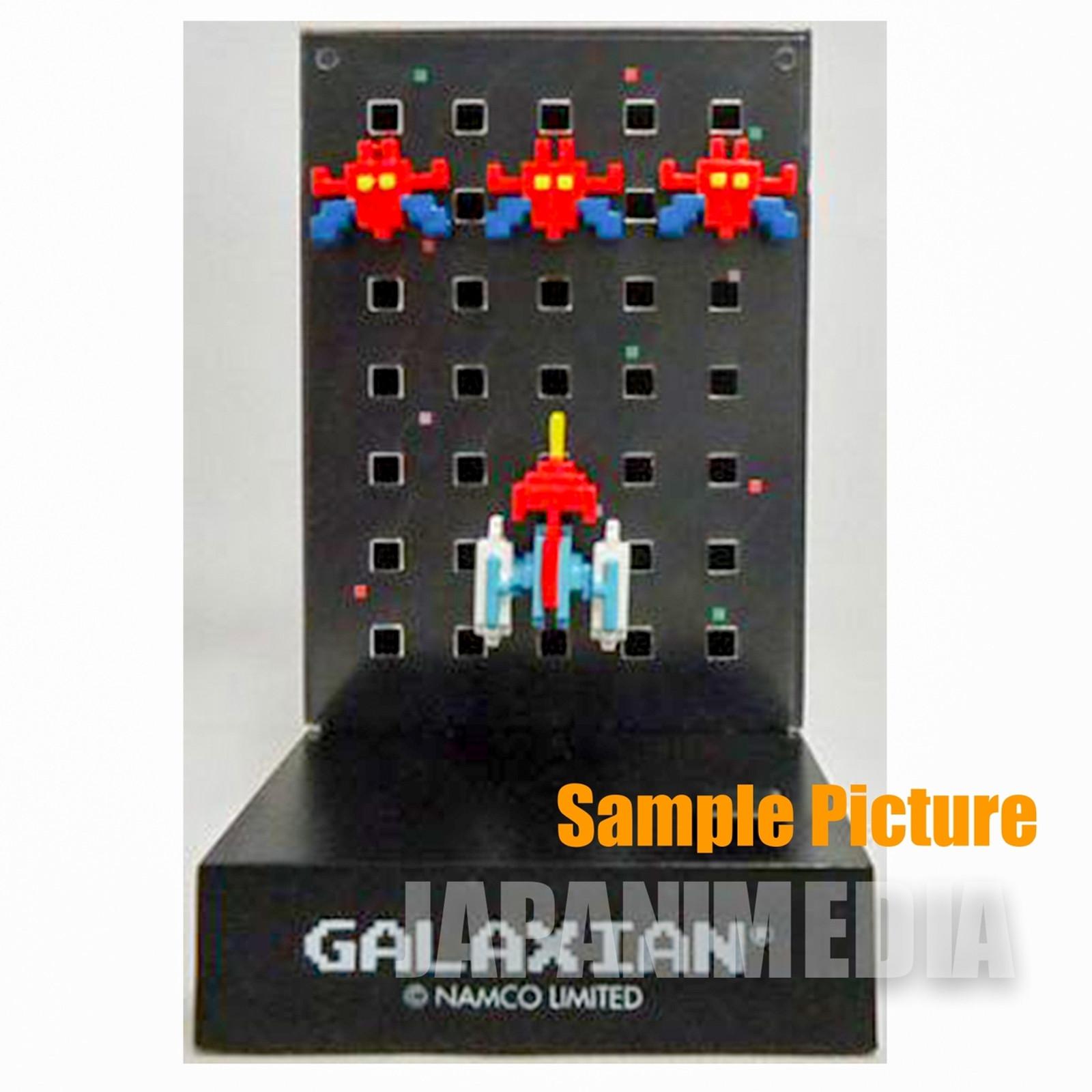 RARE! Namco Dotgraphics Galaxian Secret ver Figure with Game Sound JAPAN FAMICOM