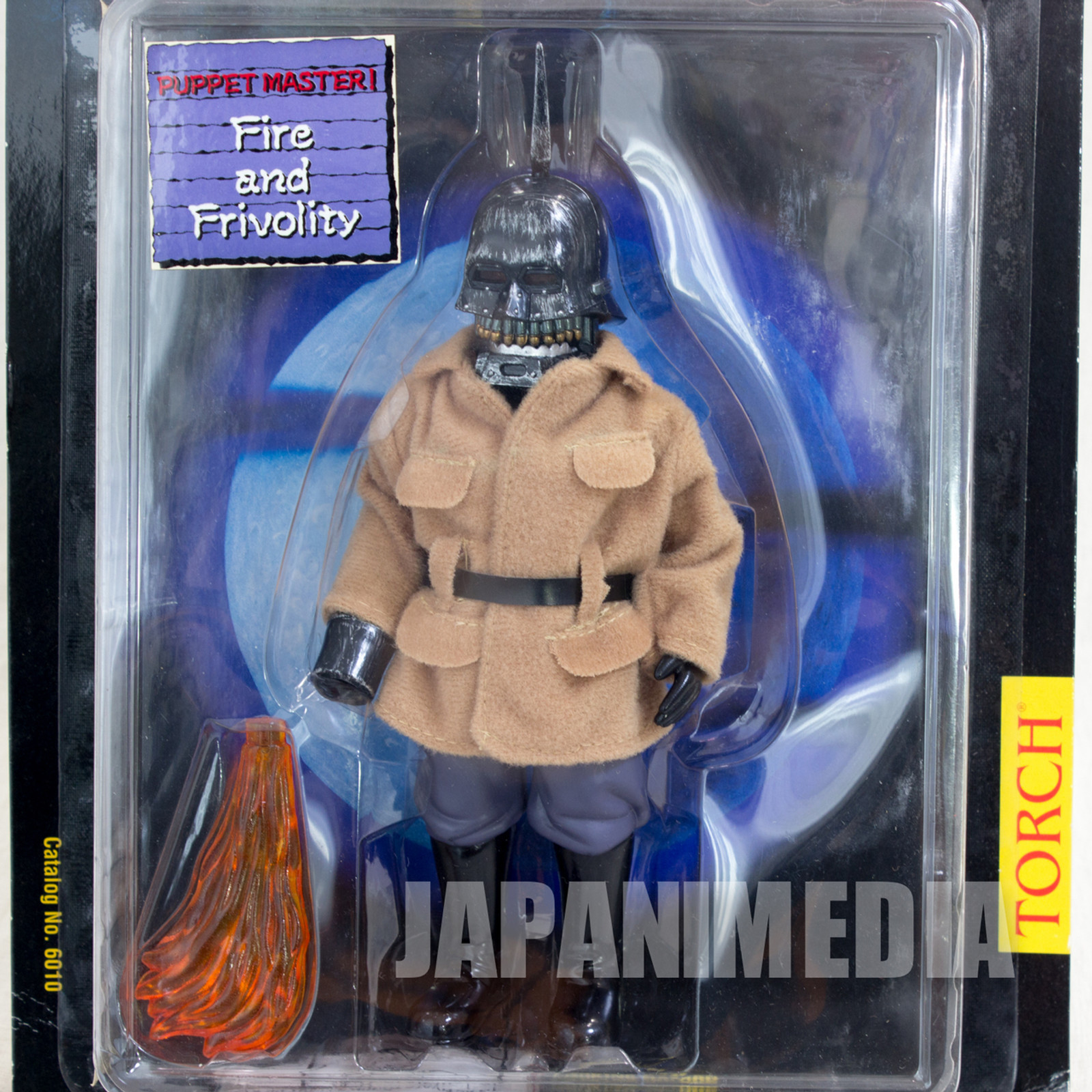 PUPPET MASTER Torch Black Mask ver. Figure Full Moon Toys
